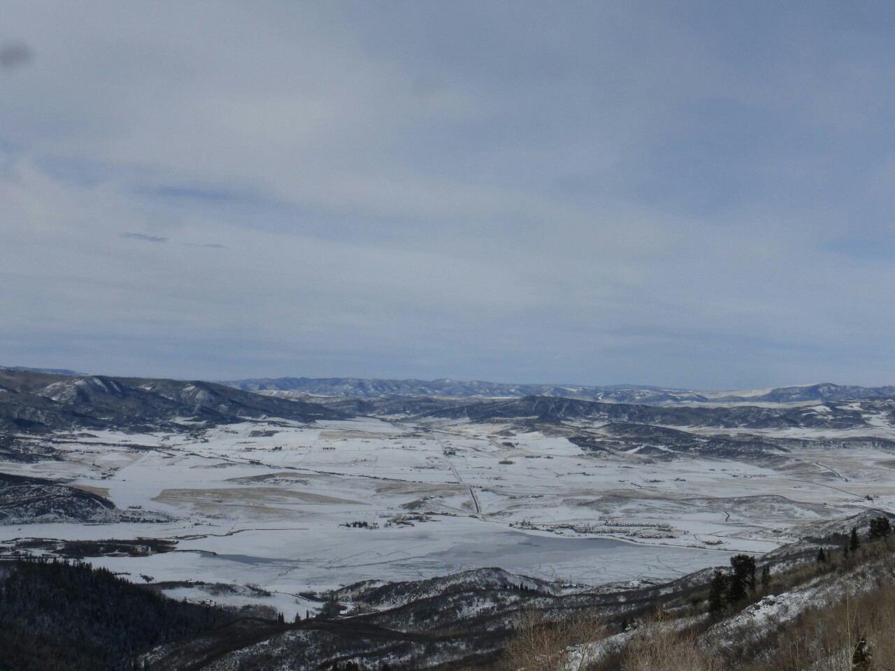 To the right was The Yampa Valley