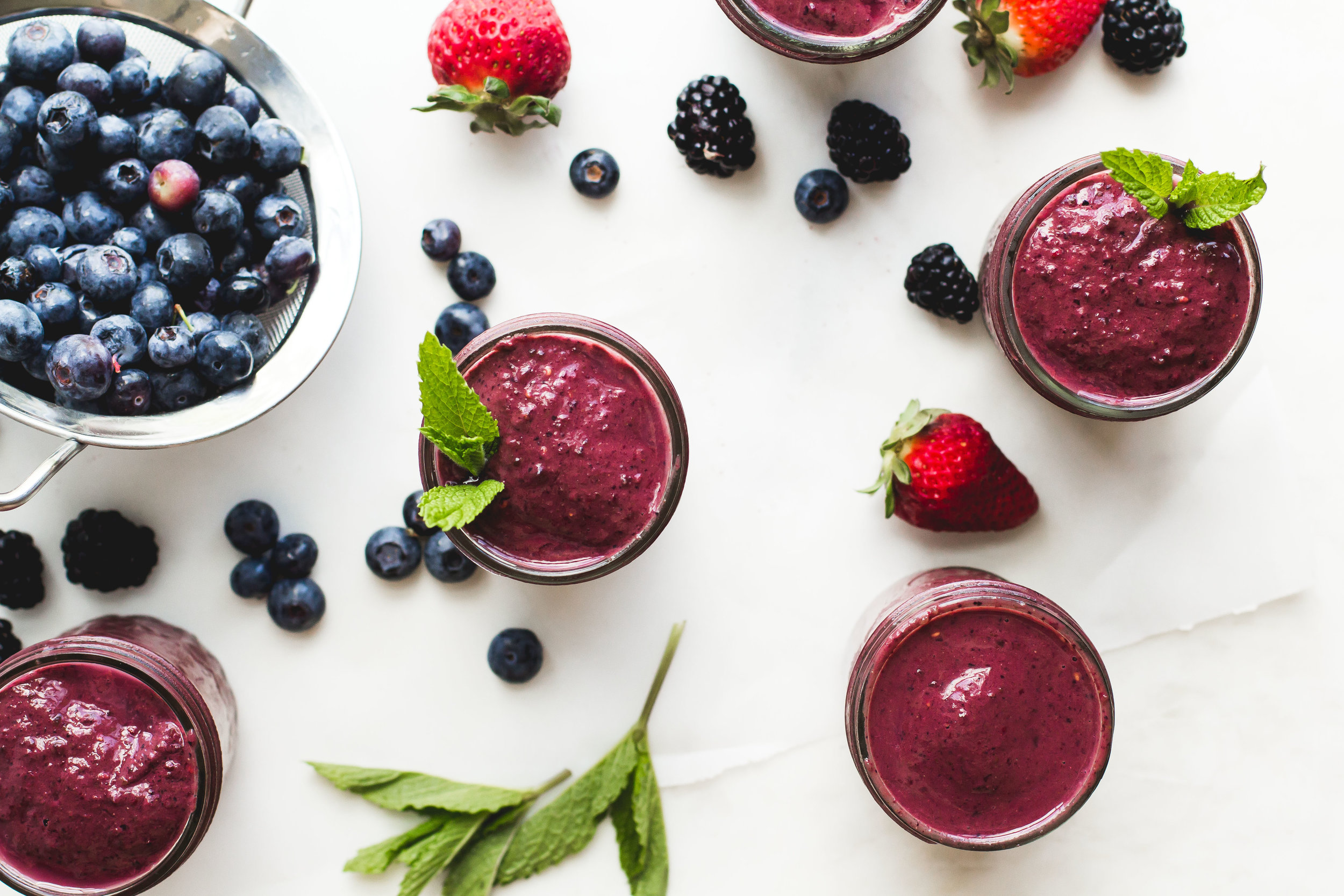 Mixed Berry + Cocoa Smoothie - Sarah J. Hauser-8.jpg