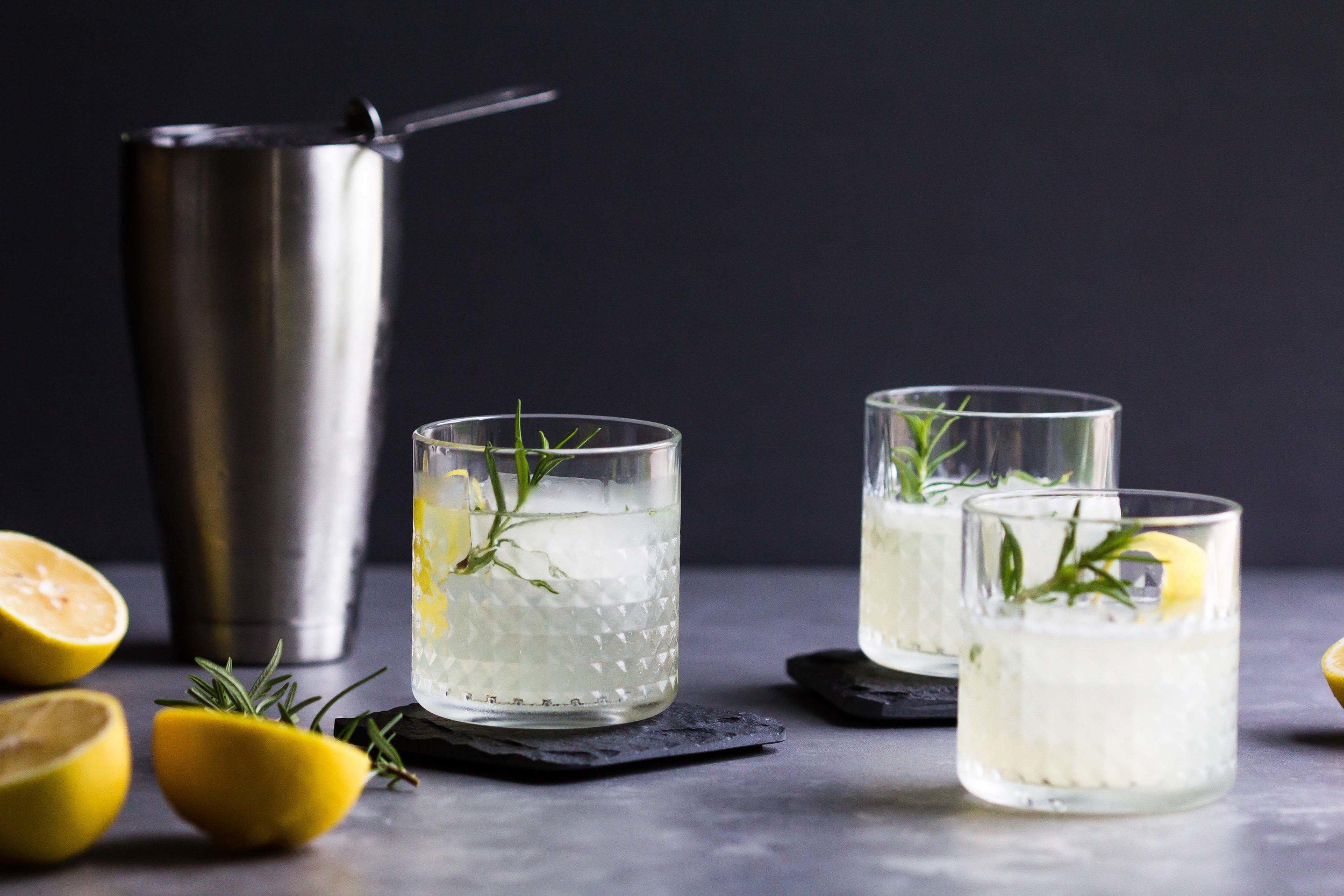 Elderflower, Lemon + Rosemary Cocktail - Sarah J. Hauser-6.jpg