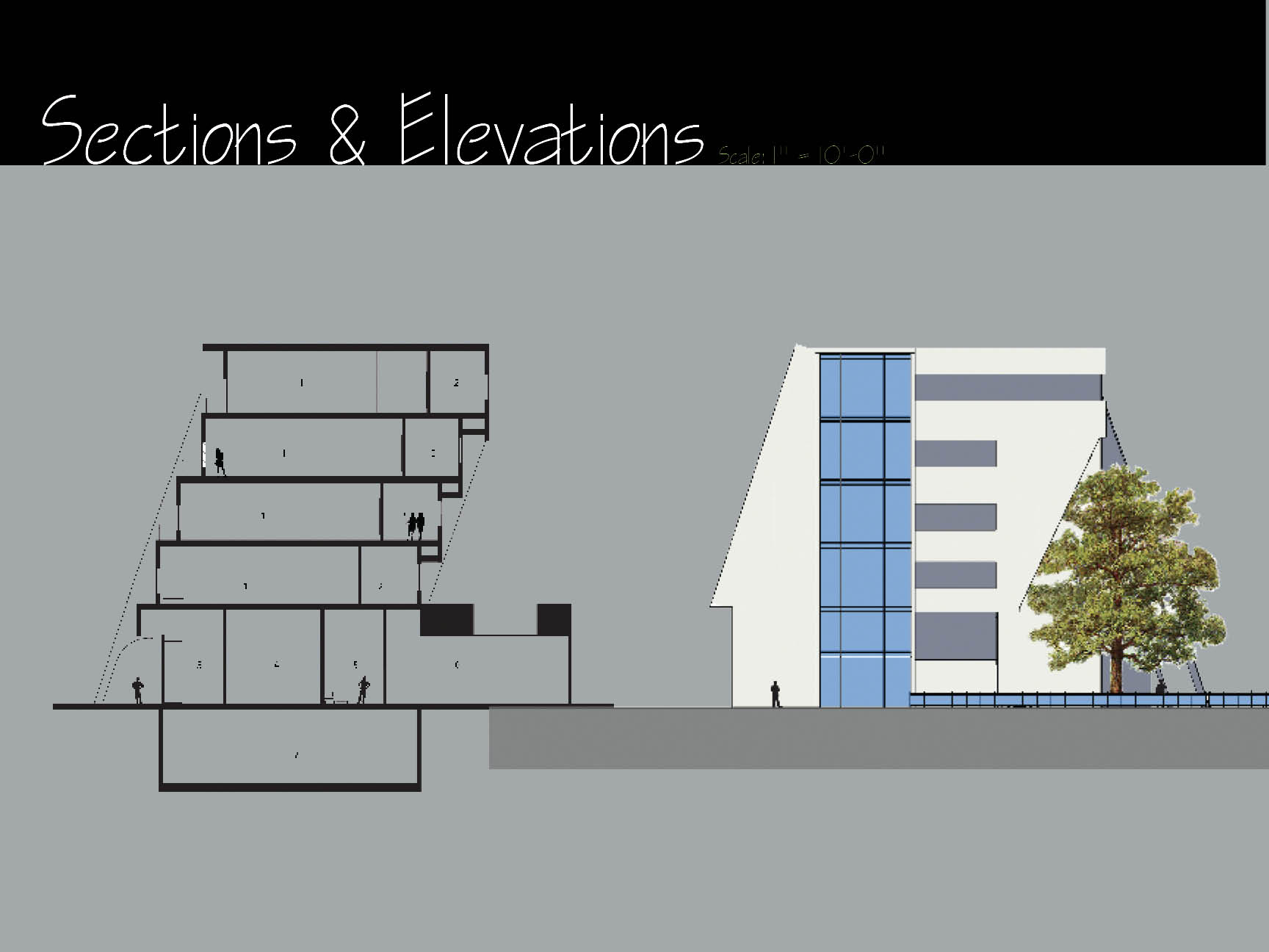Section & Elevation 2