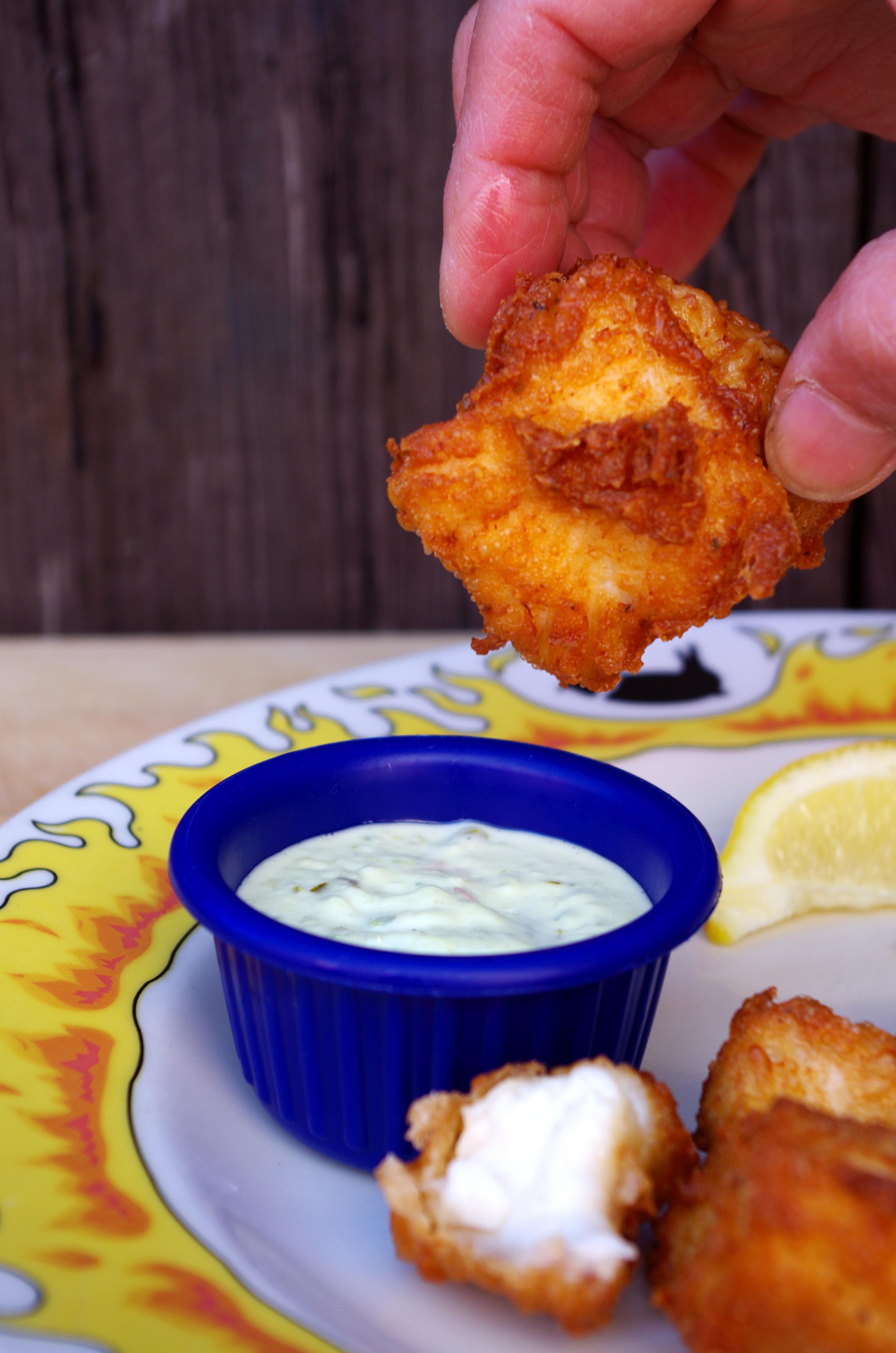 Deep fried catfish.
