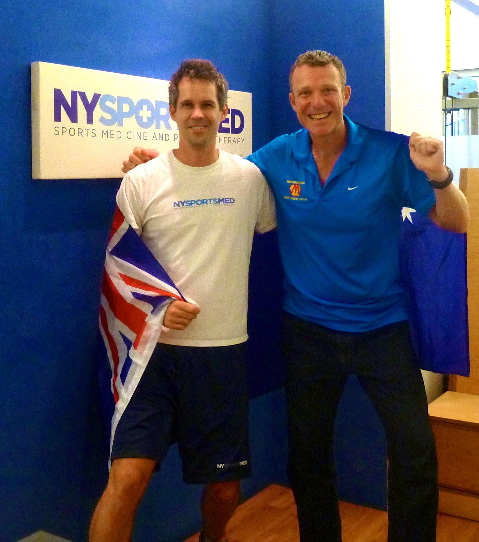 Trent Morrow, 'Marathon Man' - World Record marathons (160) in 1 year over 7 continents