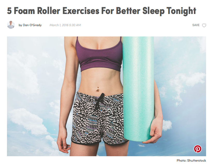 TROUBLE SLEEPING AND FEELING STRESSED?  CHECK OUT OUR  NEW  ARTICLE IN MIND BODY GREEN