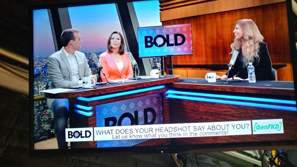 Appearance on Bold TV, New York