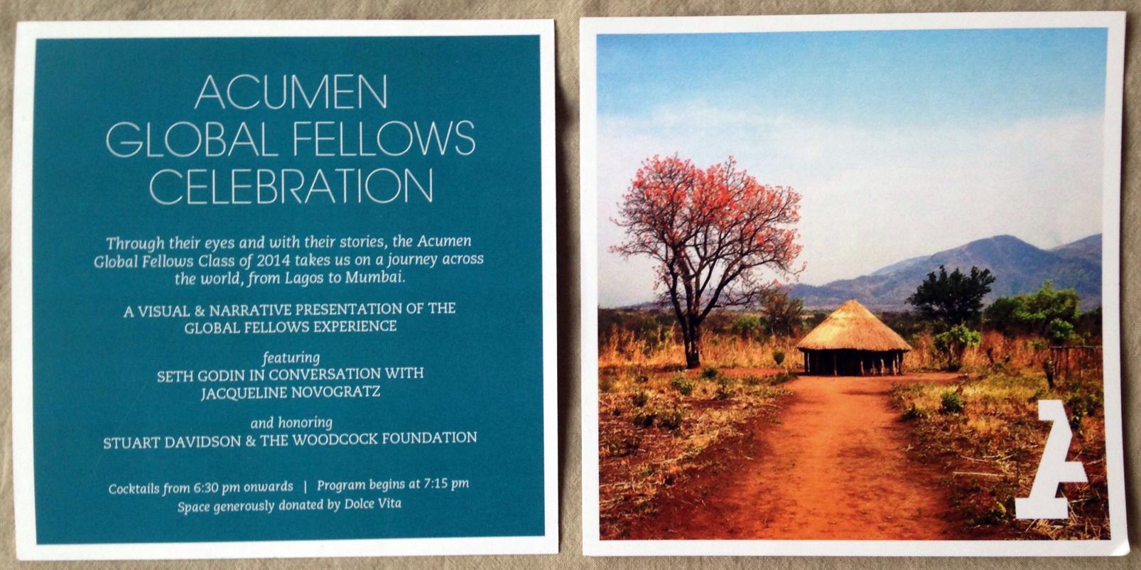Program | Global Fellows Celebration 2014