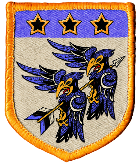 Two Sevens Clash Badge