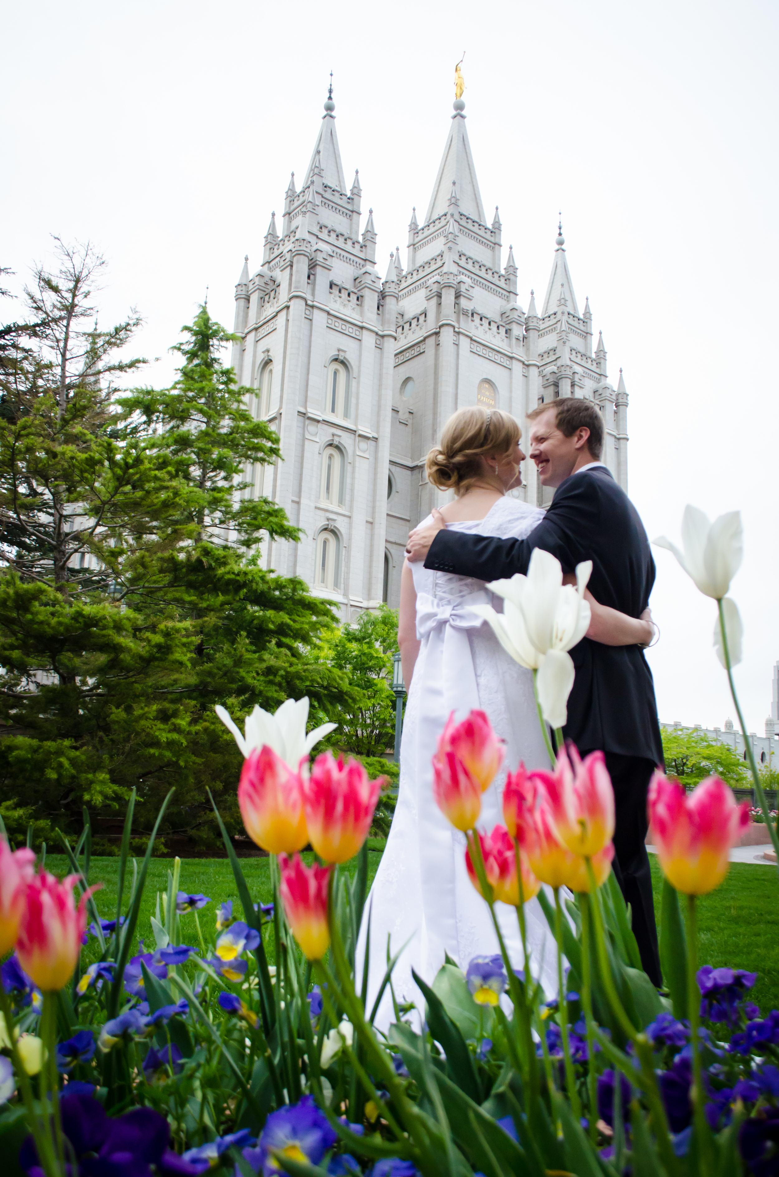 Flower Temple Wedding
