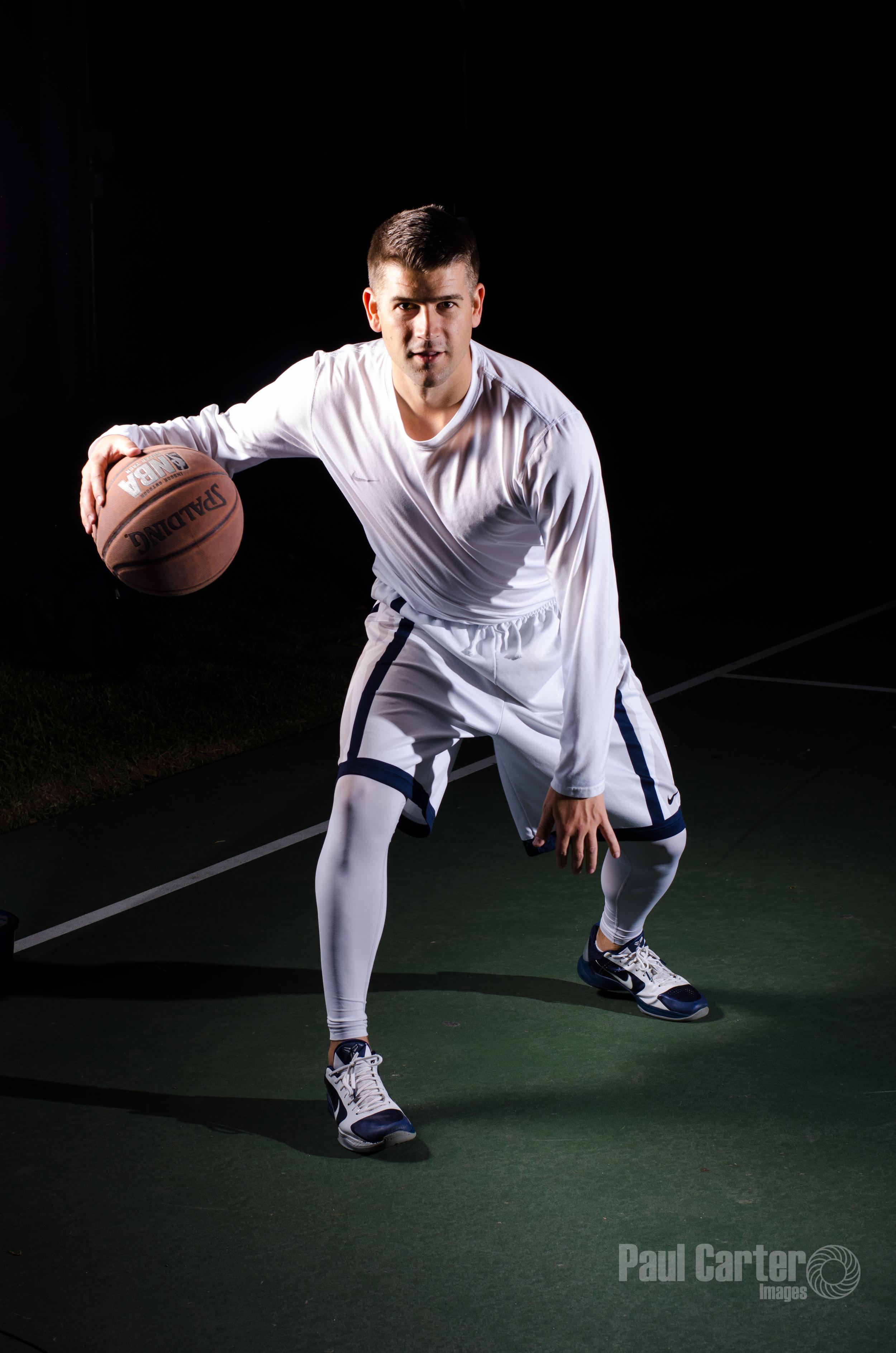 Basketball portrait