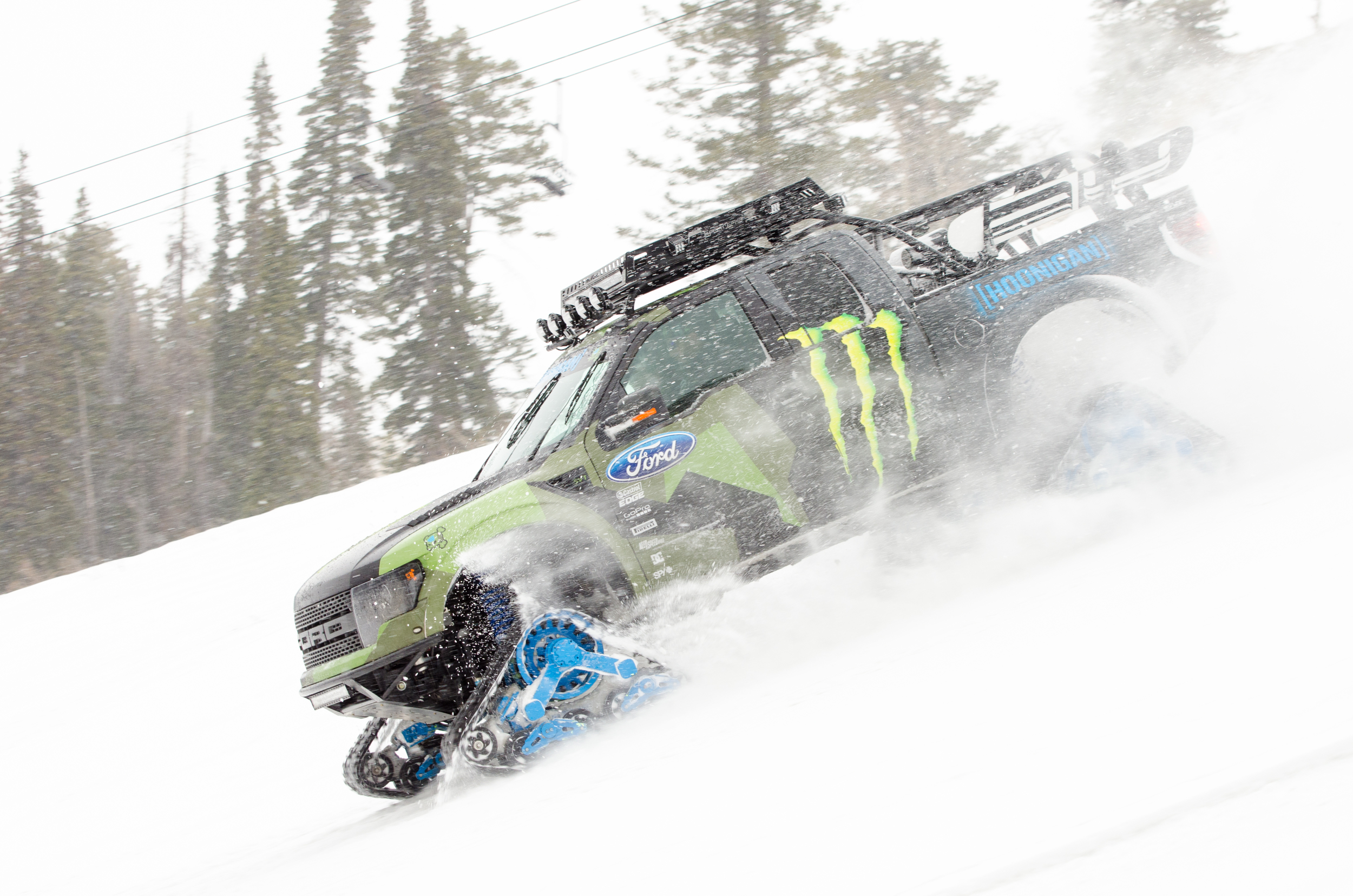 Ken Block Raptor Powder