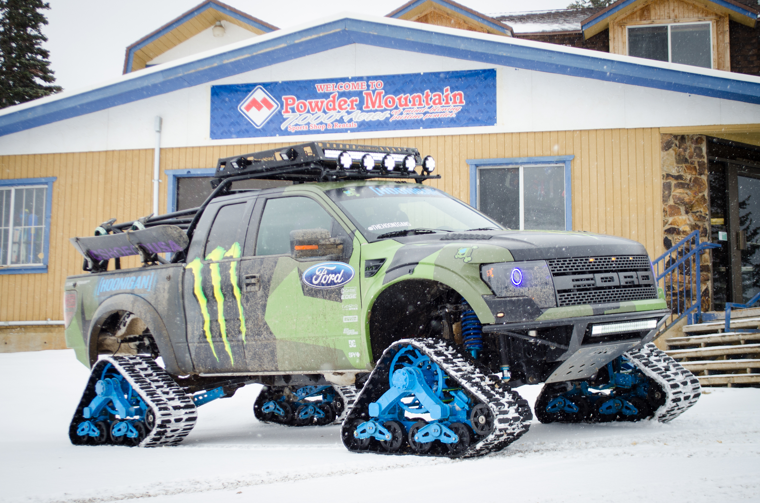 Powder Mountain Ken Block