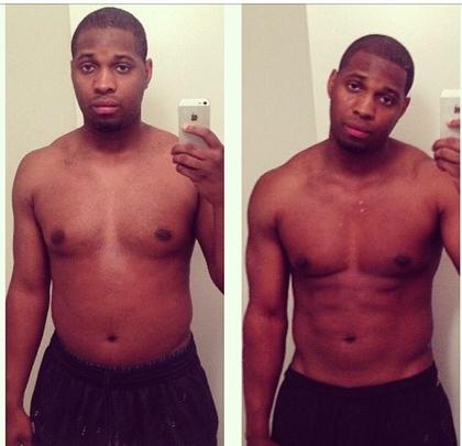 Aaron's 7 week transformation!