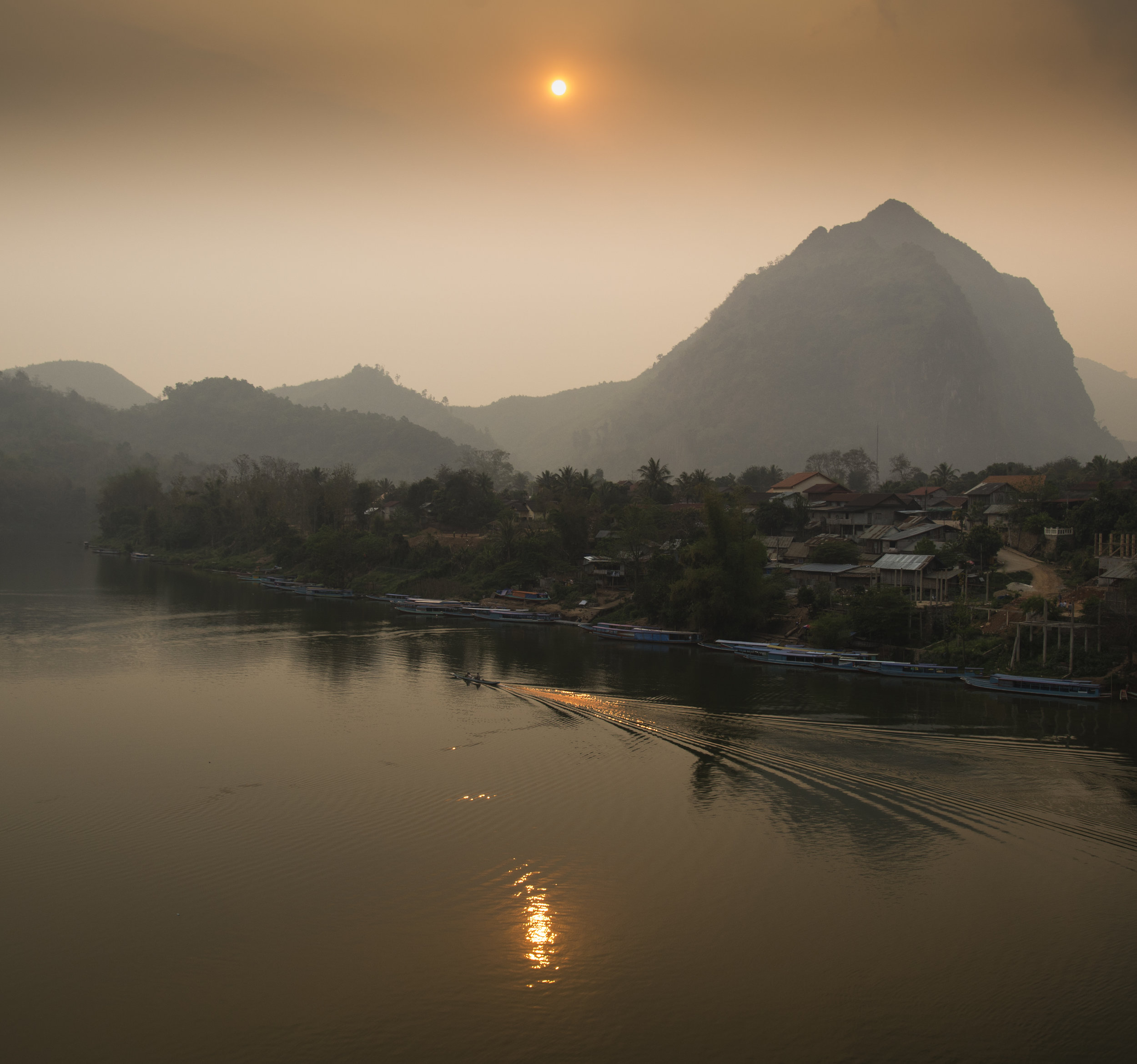 _4.24 Sunset at Nong Khiaw, Laos.jpg