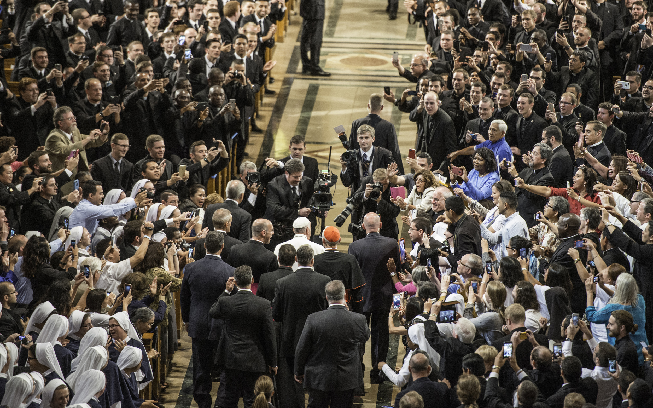 A Papal Welcome