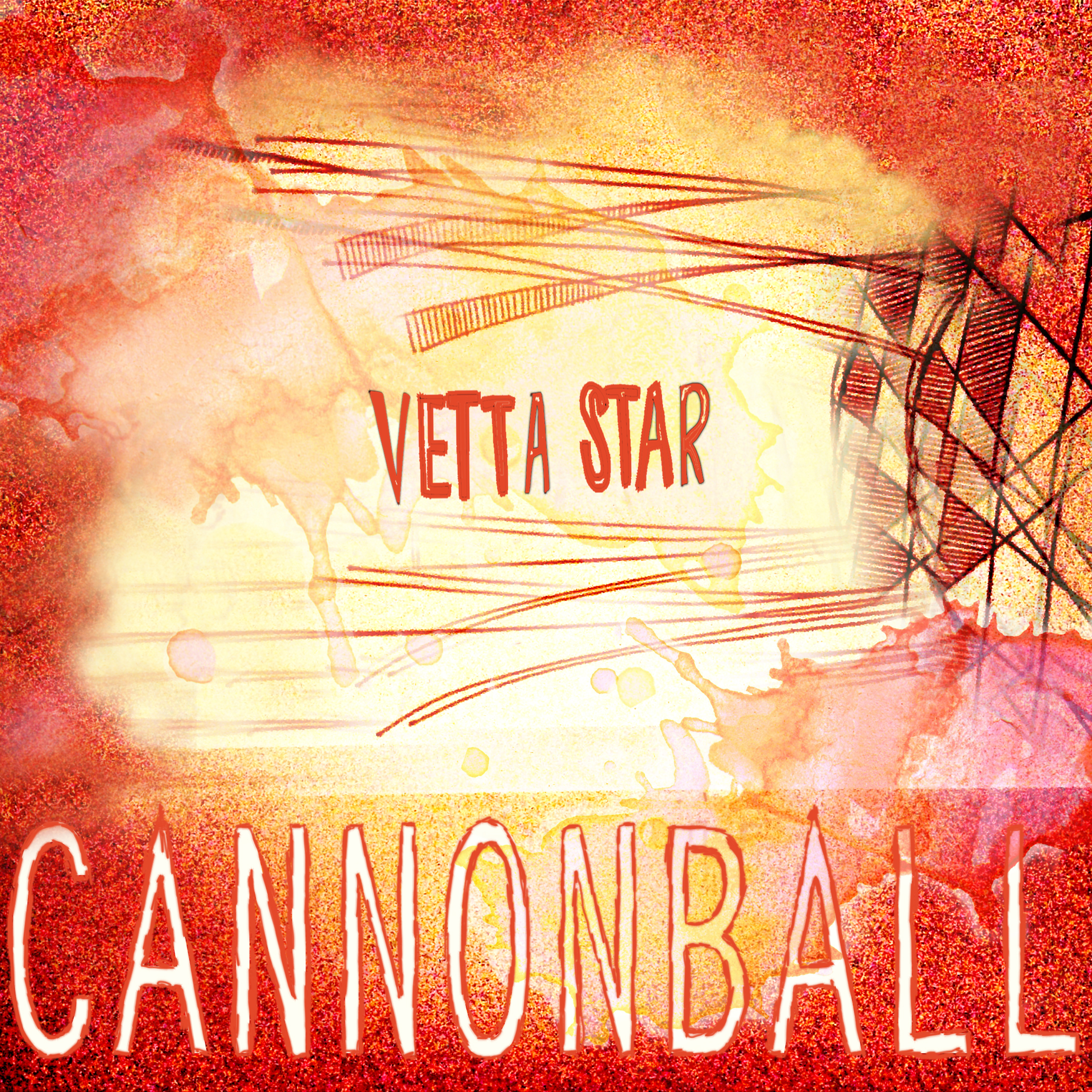 Created in collaboration with  Stephanie Biller   For the Denver-based indie rockband  Vetta Star
