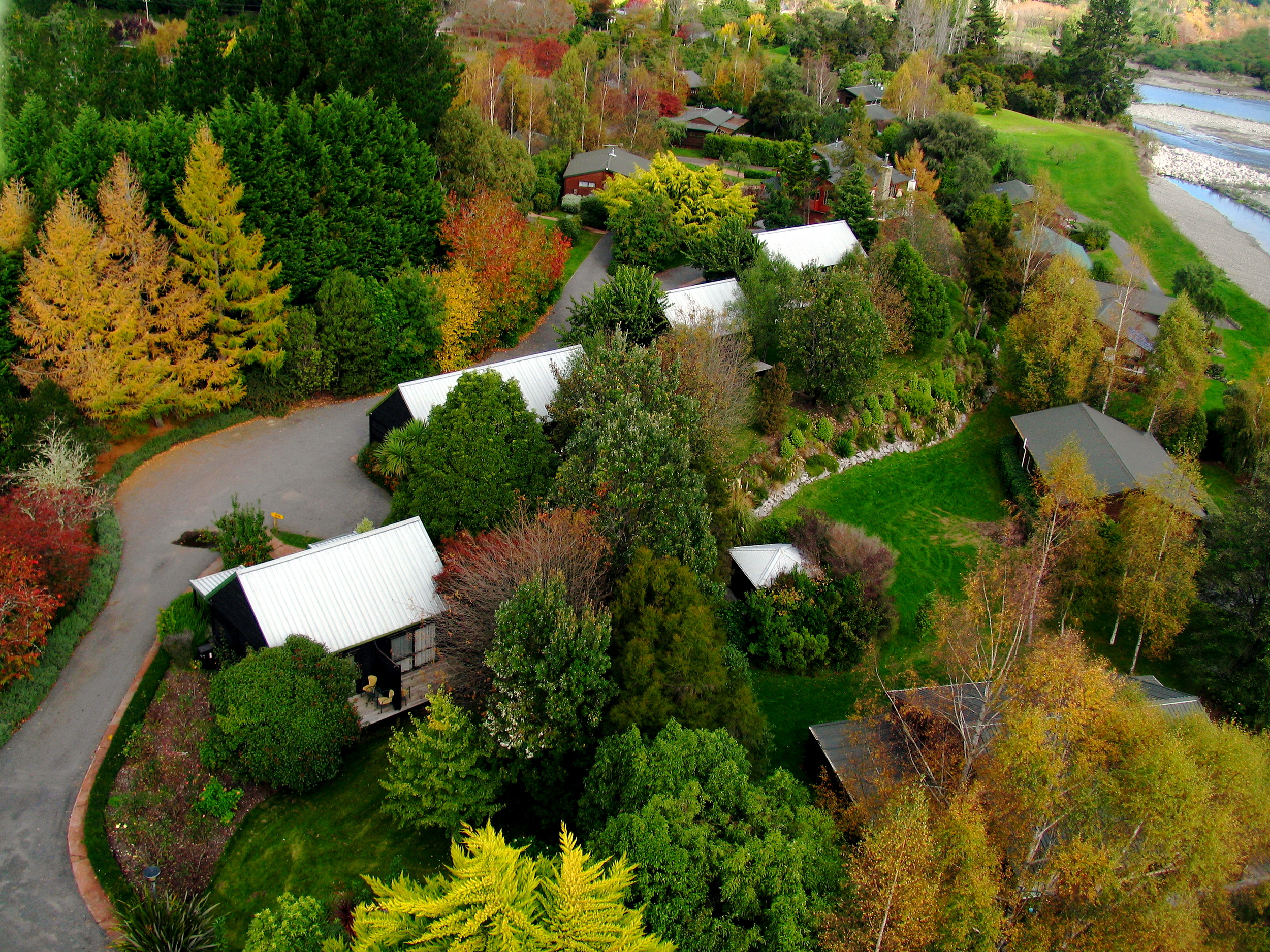 Aerial Chalets and Villas   Download