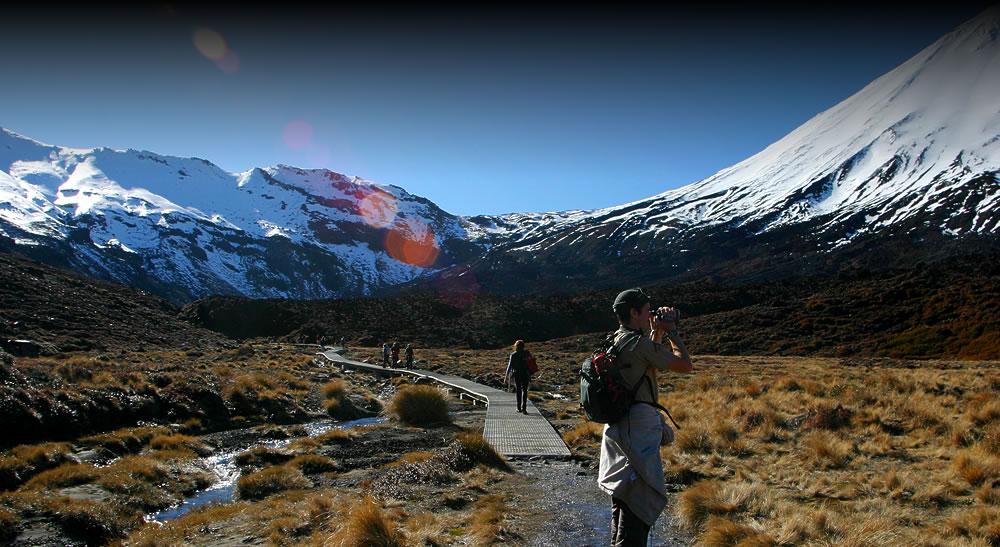 Walking the Tongariro Crossing with Tongariro Lodge