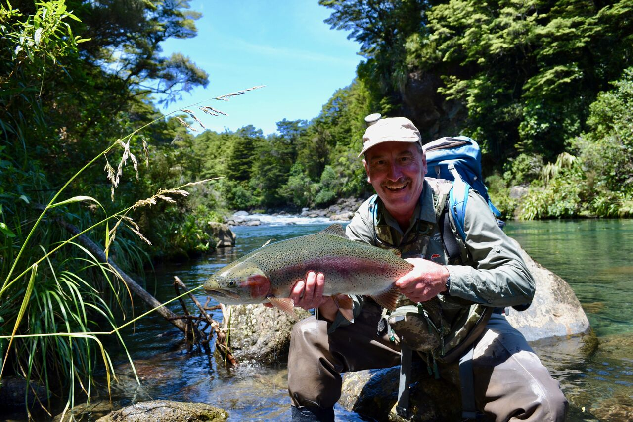 Central North Island wilderness rivers and streams accessed by 4wd