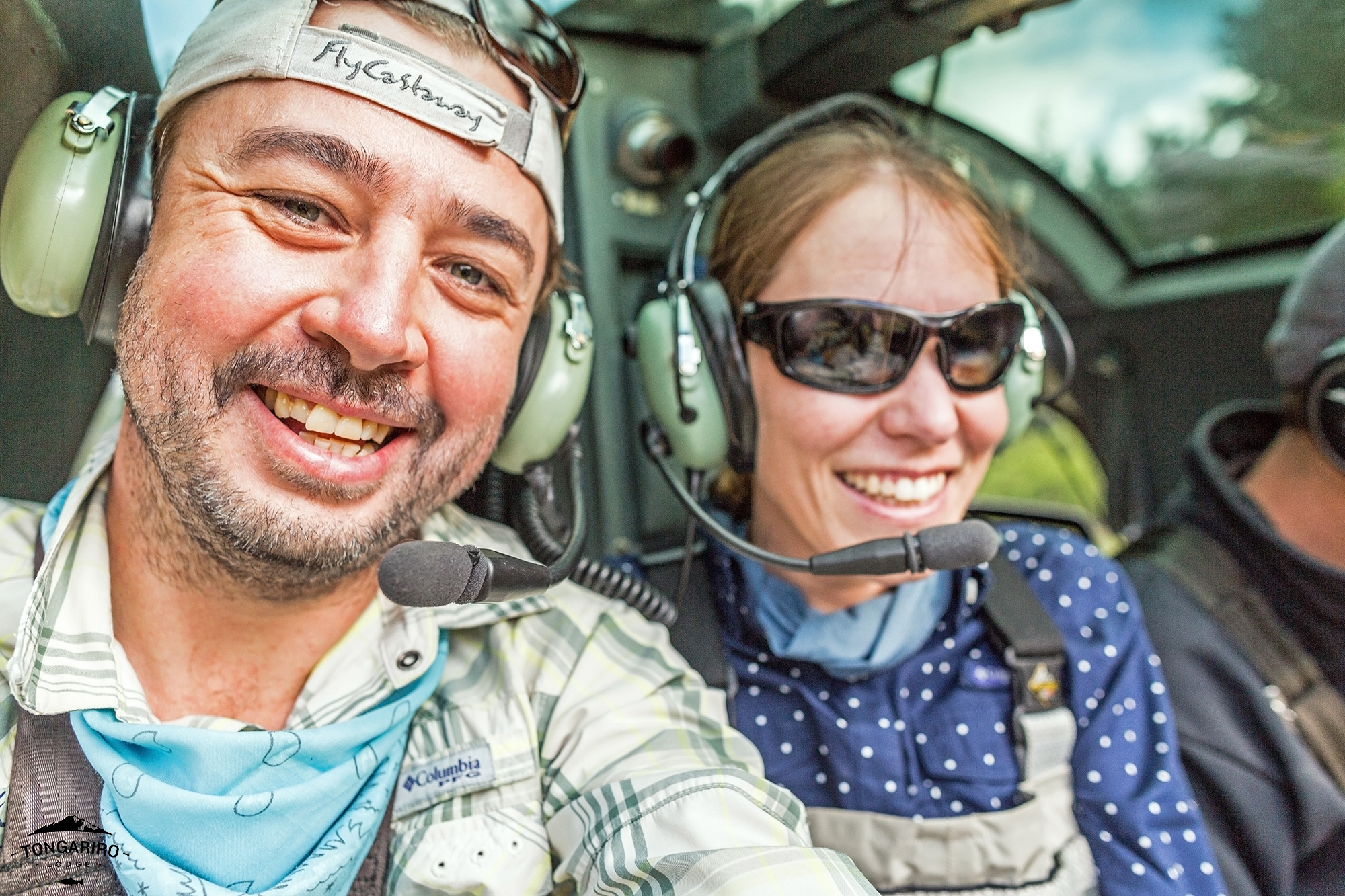 Heli-fishing and overnight camp trips