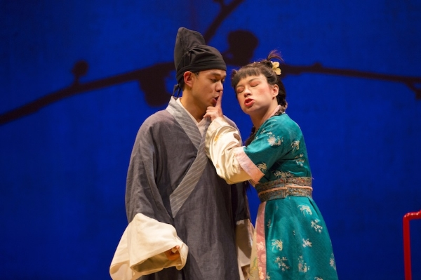 The White Snake  at The McCarter Theatre - Photo by T. Charles Erickson