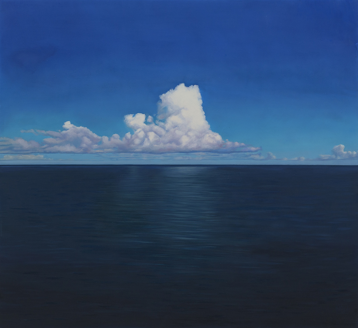 Rapture on A Lonely Sea 55cm x 60cm Oil on Board.jpg