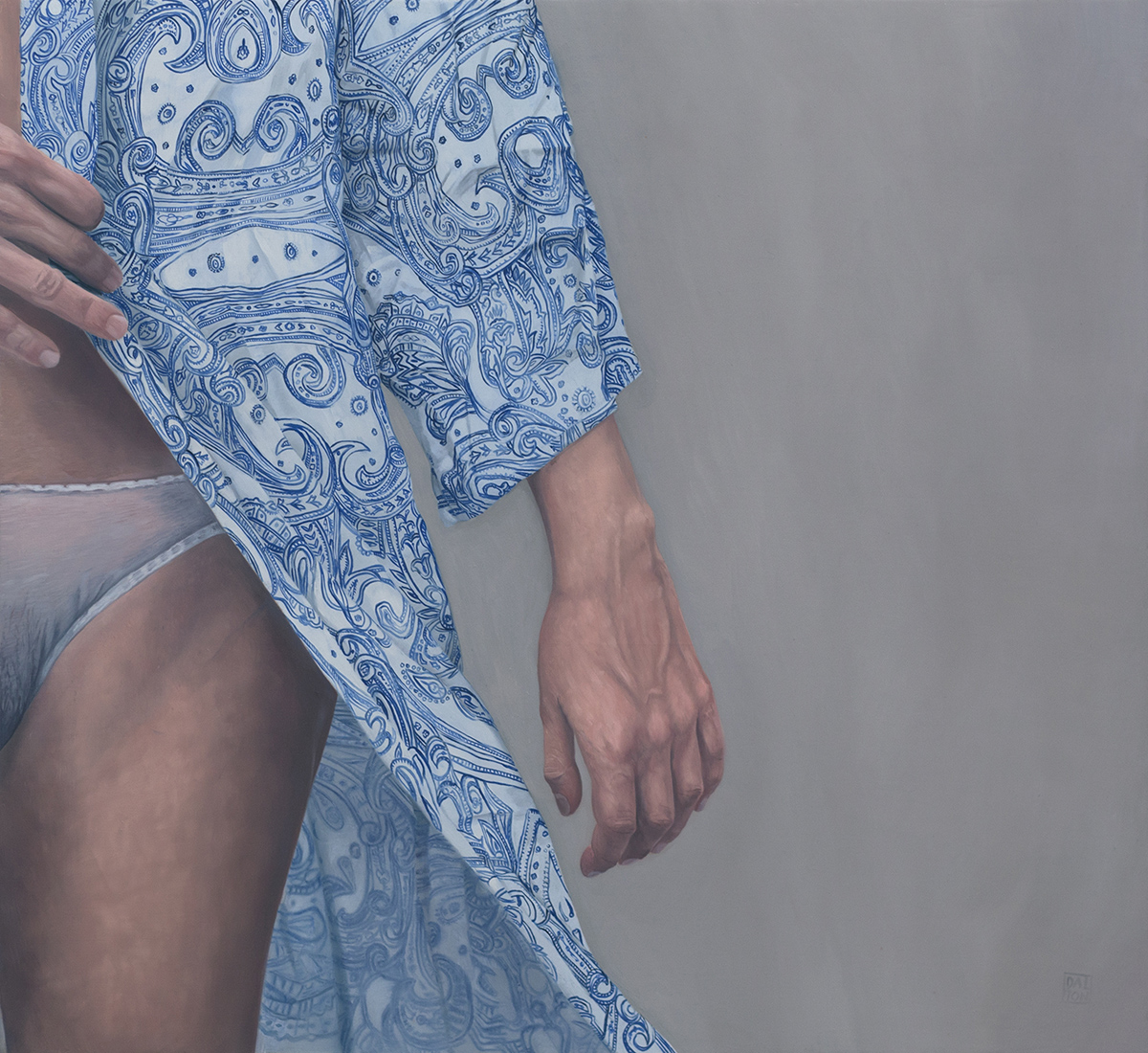 The Return to Modesty 55cm x 60cm Oil on Board.jpg