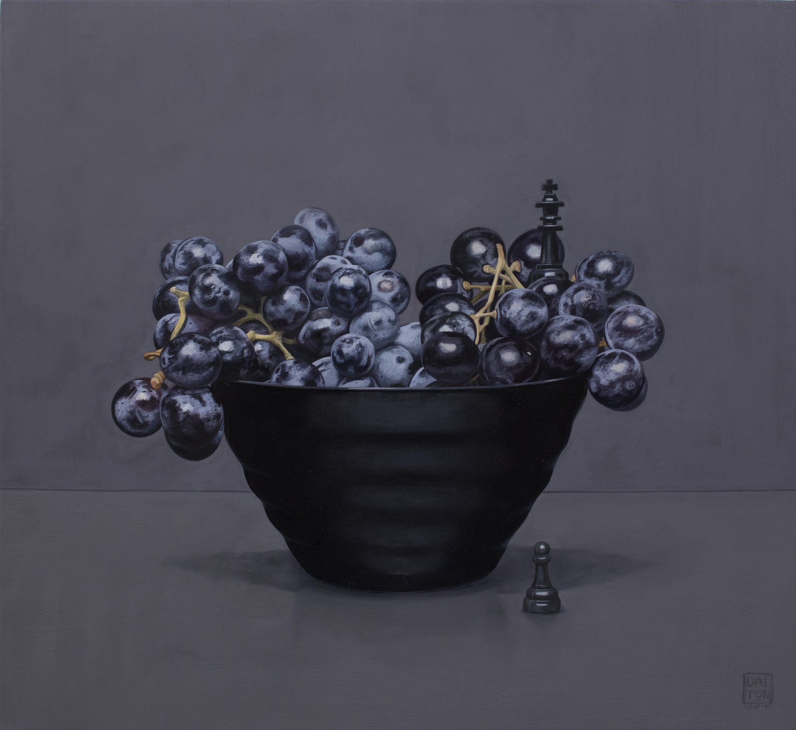 Grapes to King 4 Jonathan Dalton 55x60cm Oil on board 03.jpg