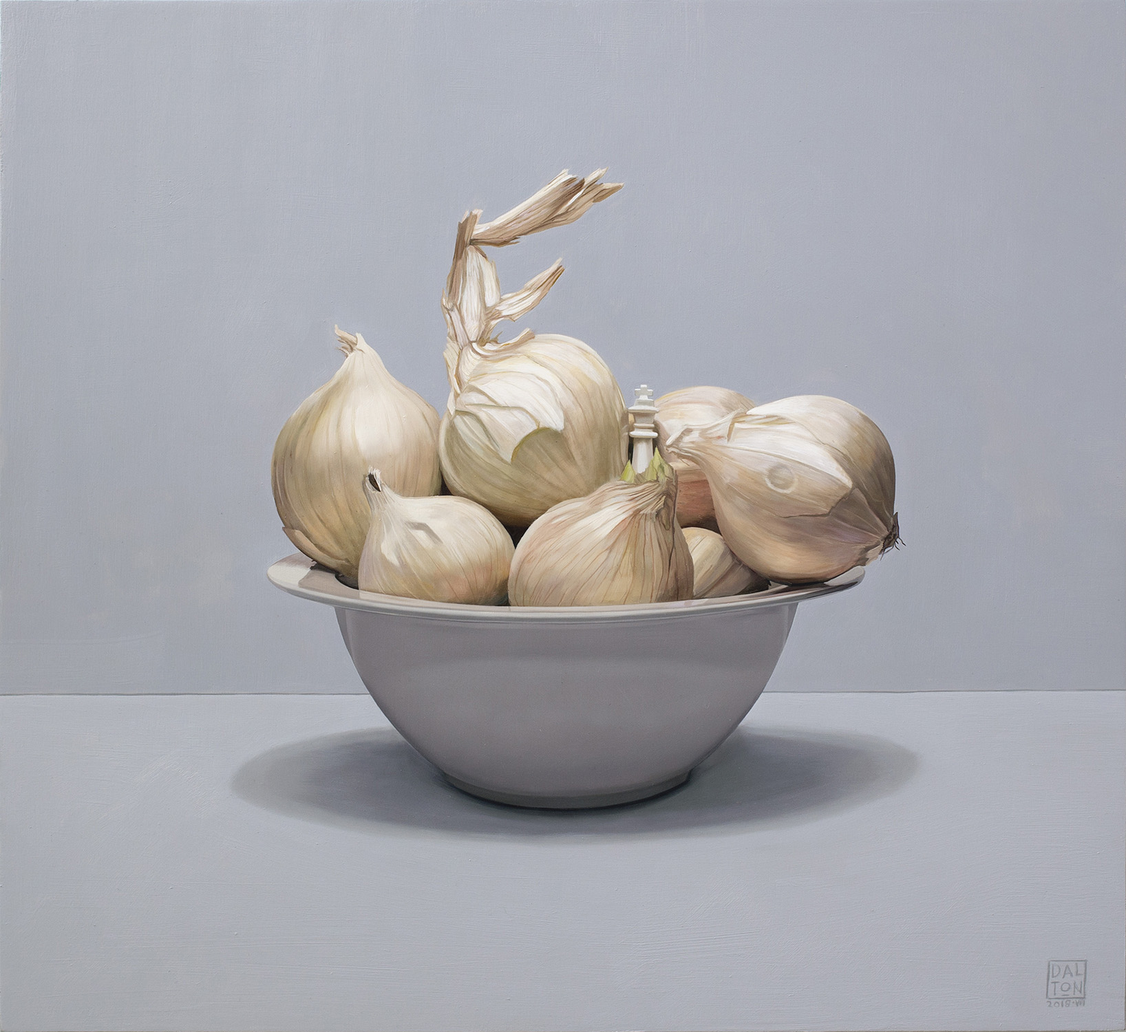 Slightly White Onions Jonathan Dalton 55x60cm Oil on board 02.jpg