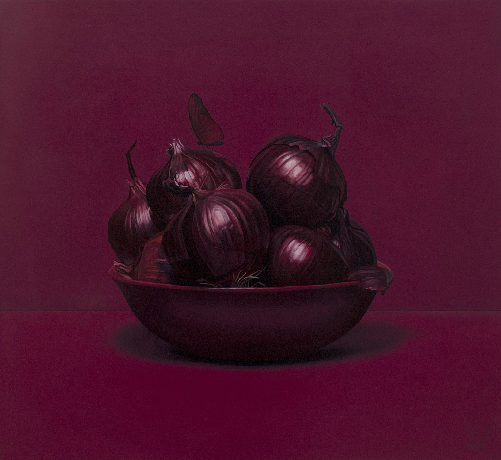 Spanish Onions Jonathan Dalton 55x60cm Oil on board 06.jpg