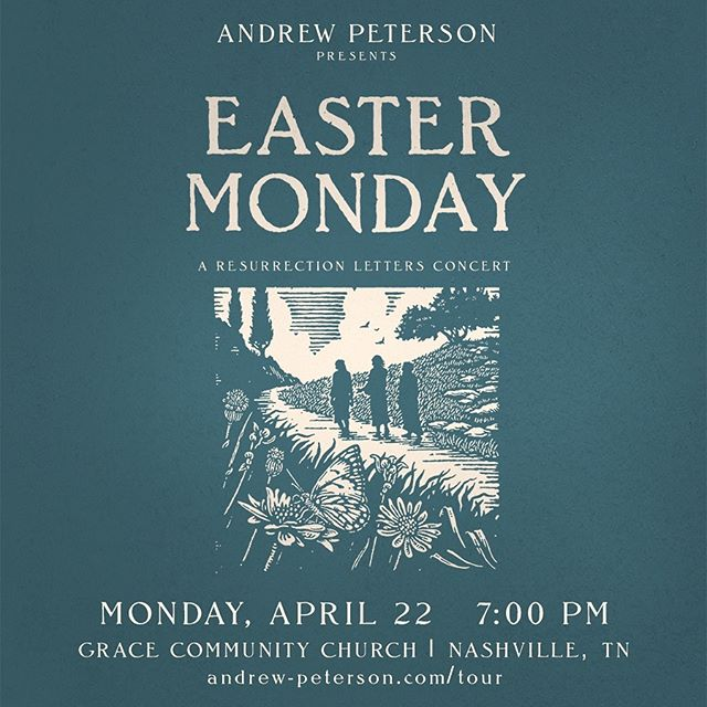 Easter Sunday is just the beginning of the party. Join us in Nashville on EASTER MONDAY to celebrate Christ's resurrection, his conquering of death, and the renewal of all things. Tickets are limited, link in bio!