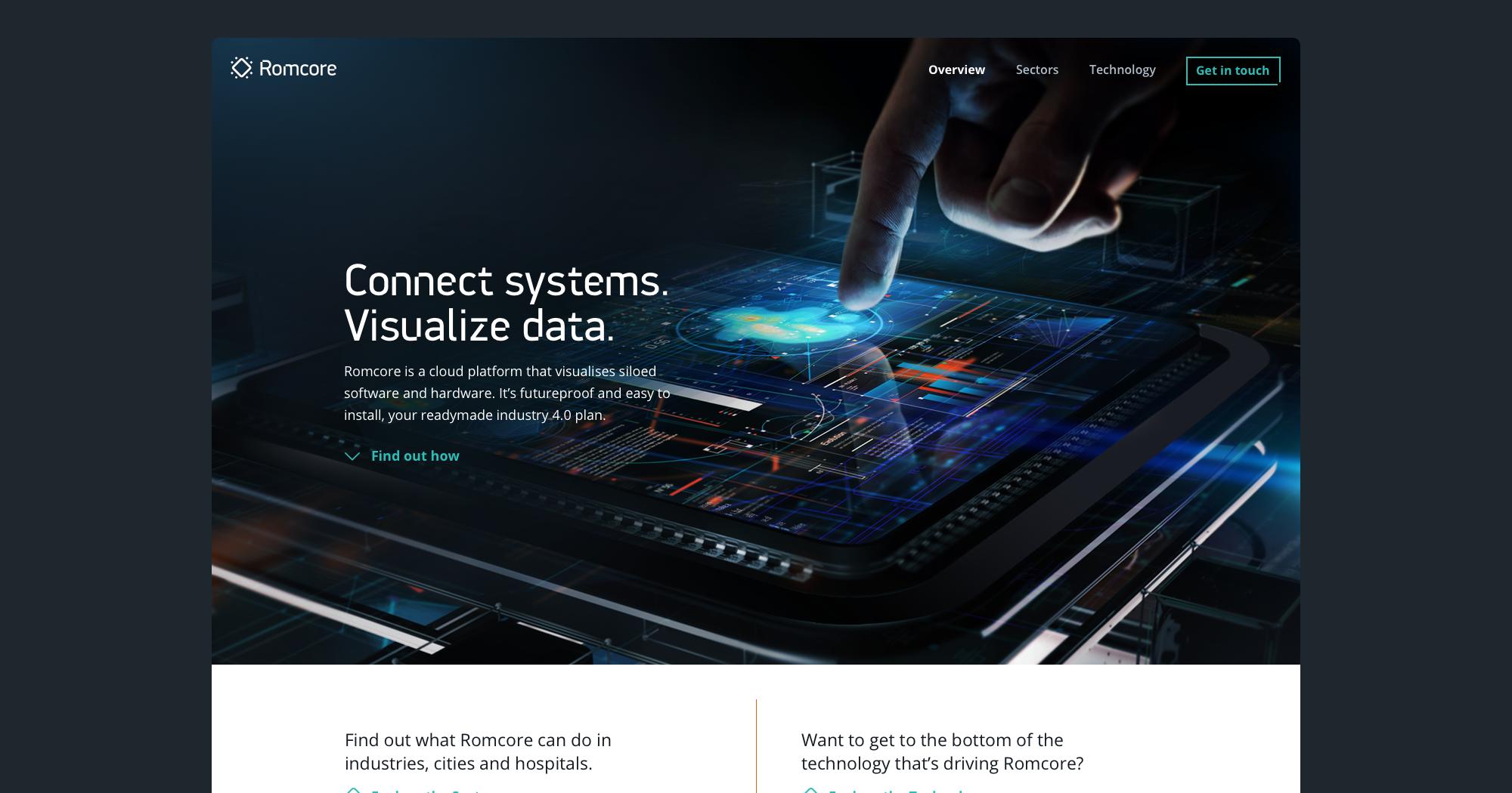 Romcore website