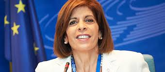 Stella Kyriakidou - EU Health Commissioner designate. A psychologist by profession (qualified UK to masters level), she worked the Cyprus Ministry of Health in the department of Child and Adolescent psychiatry from 1976 and 2006 for. In 1999 she was appointed president of the First Breast Cancer Movement in Cyprus and President of the National Committee on Cancer Strategy in 2016. She was elected to the Cyprus House of Representatives (Nicosia District) for the conservative  Democratic Rally  in 2006.
