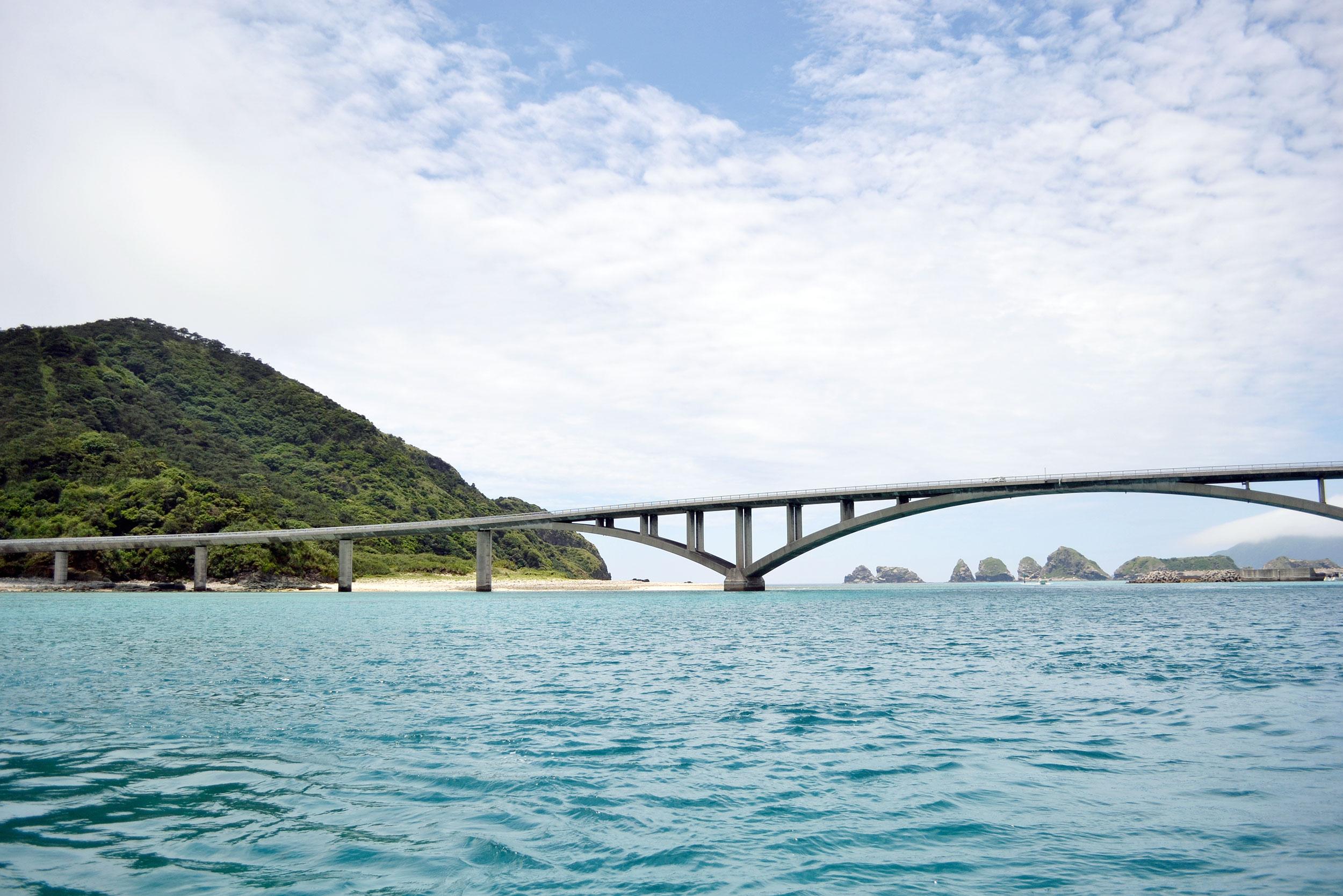 A bridge on Aka Island, Okinawa