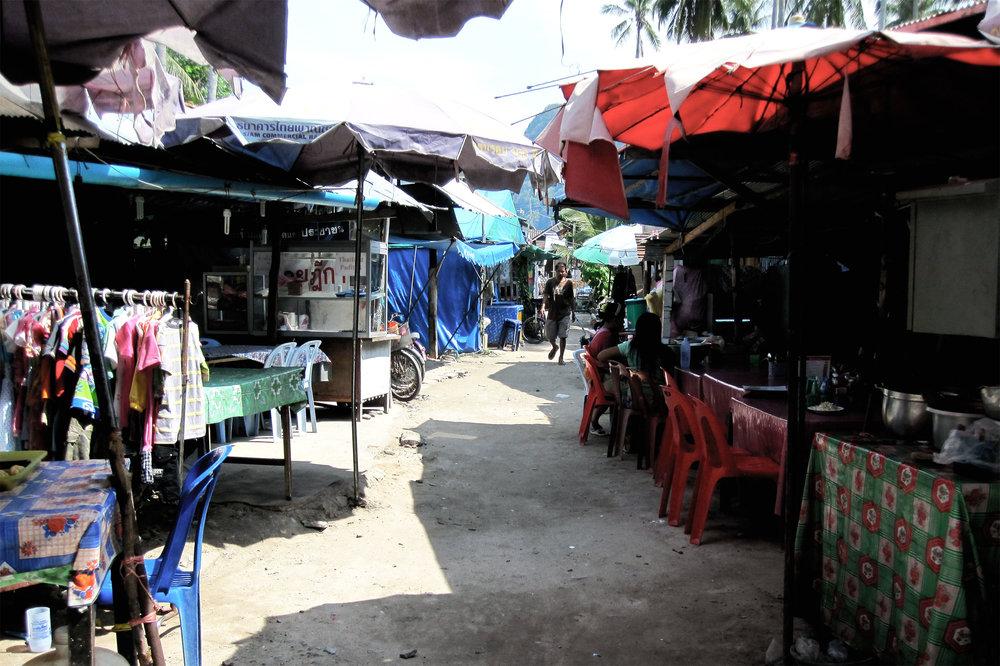 Walking streets of Koh Phi Phi
