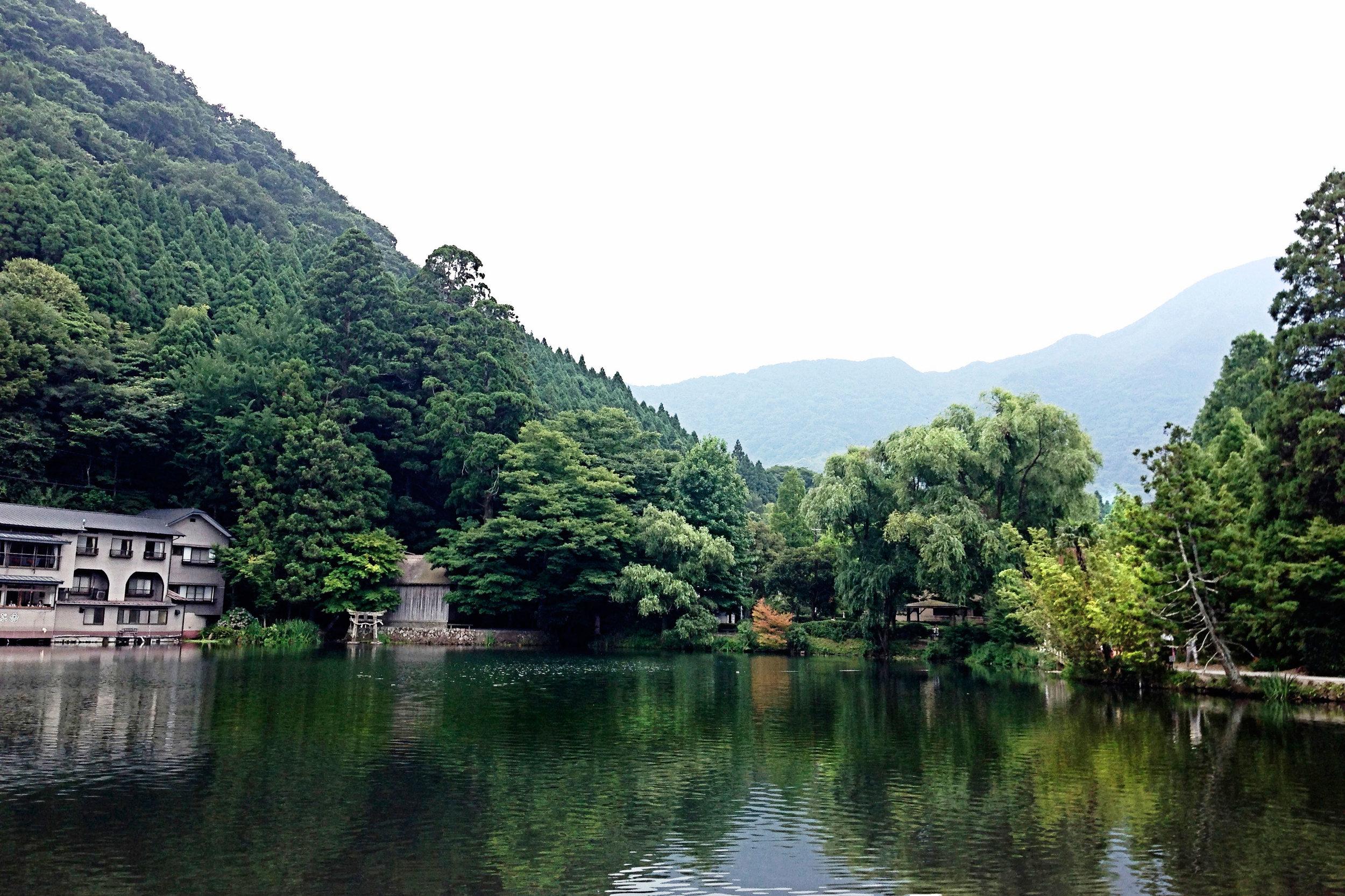 Lake Kinrin.