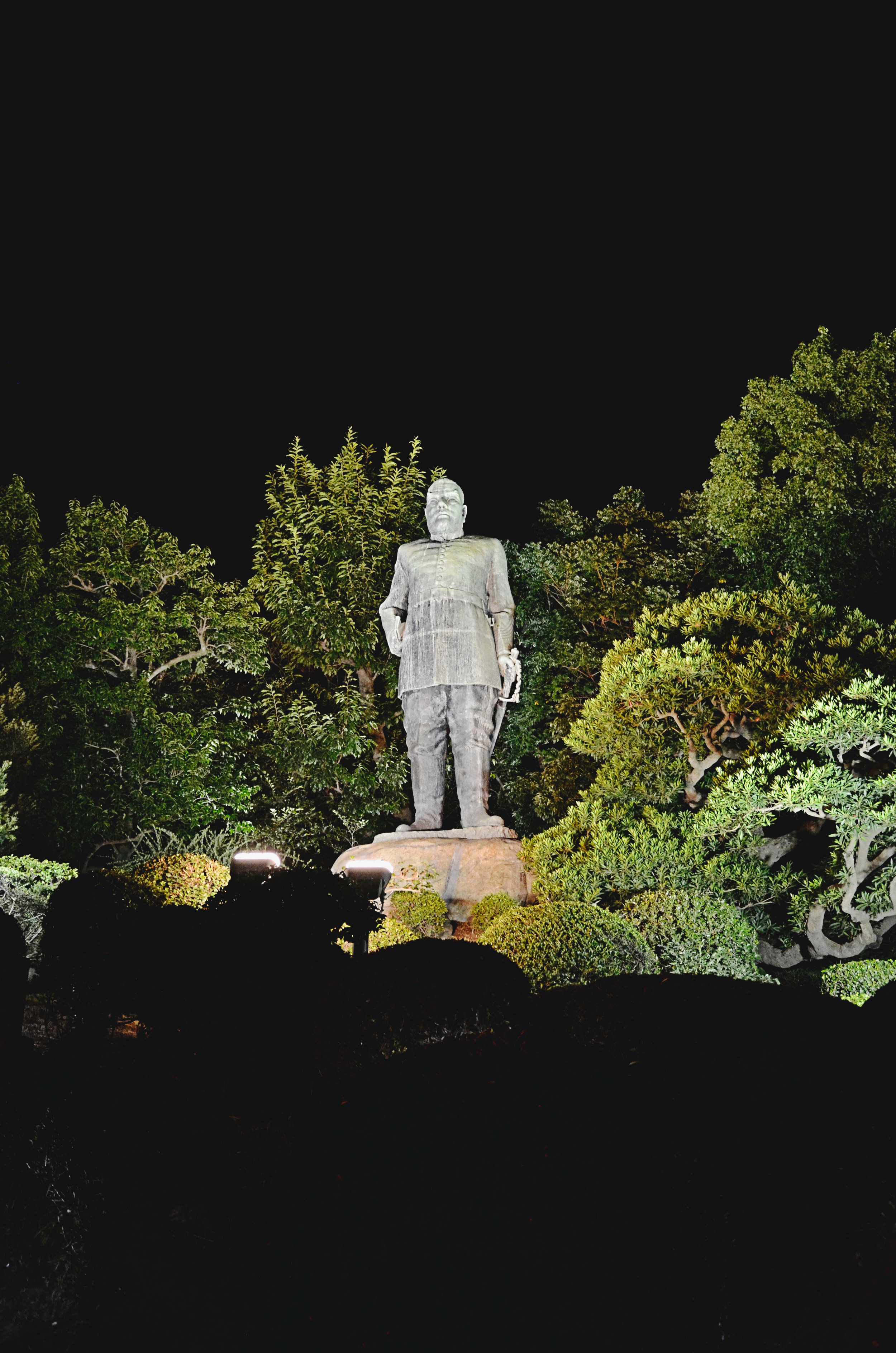 Saigo Takamori statue in Kagoshima