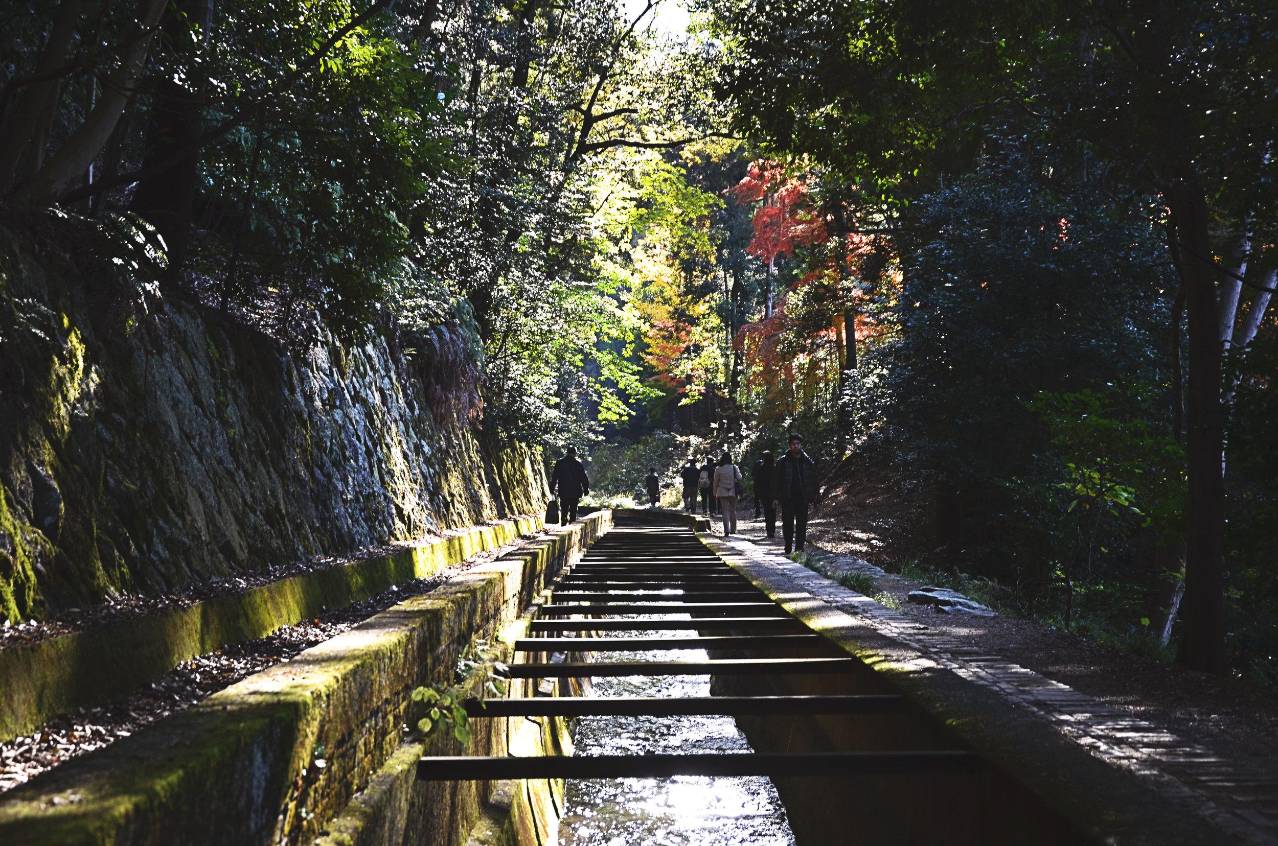 The aquaduct at Nanzen-ji temple in Kyoto