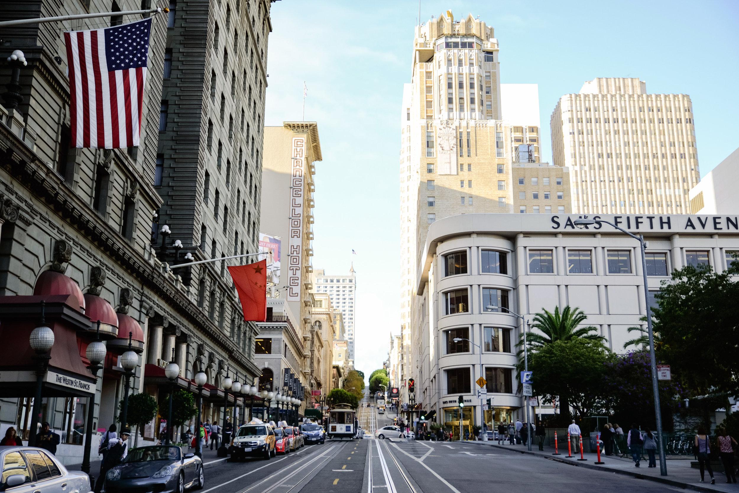 Powell Street @ Union Square