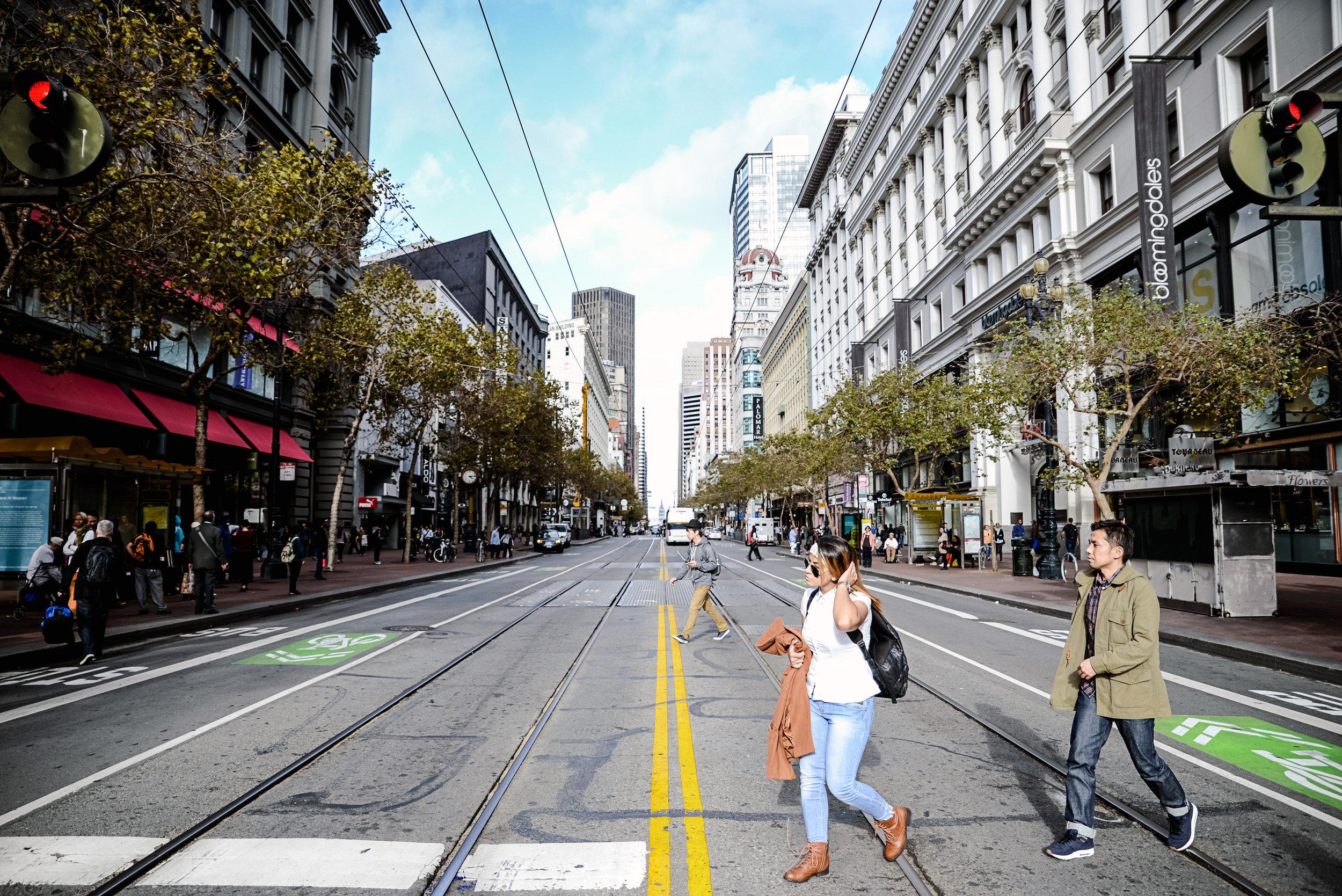 Market Street @ Union Square