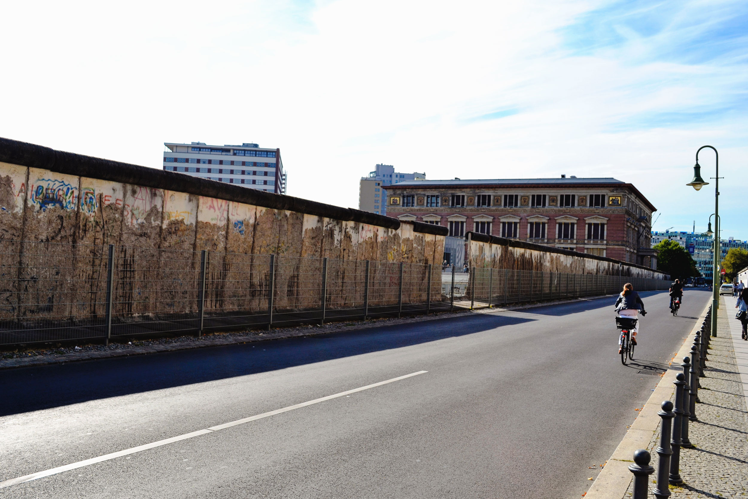 The Berlin Wall at the Topography of Terror.