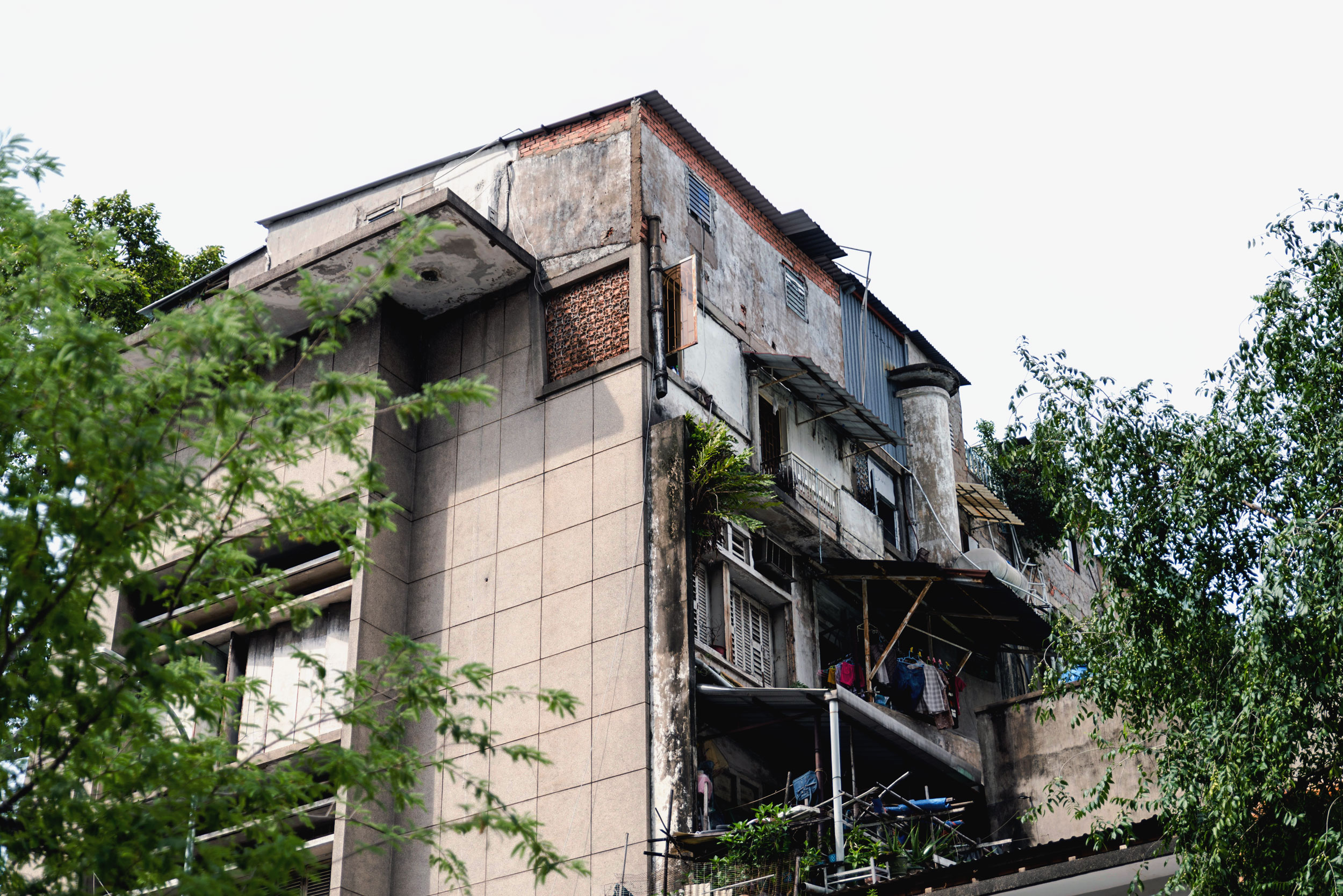 An apartment building in Ho Chi Minh, Vietnam