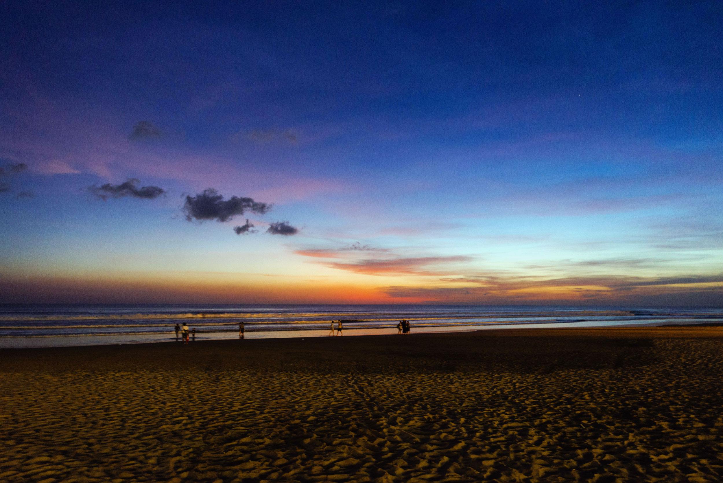 Sunset in Seminyak, Bali