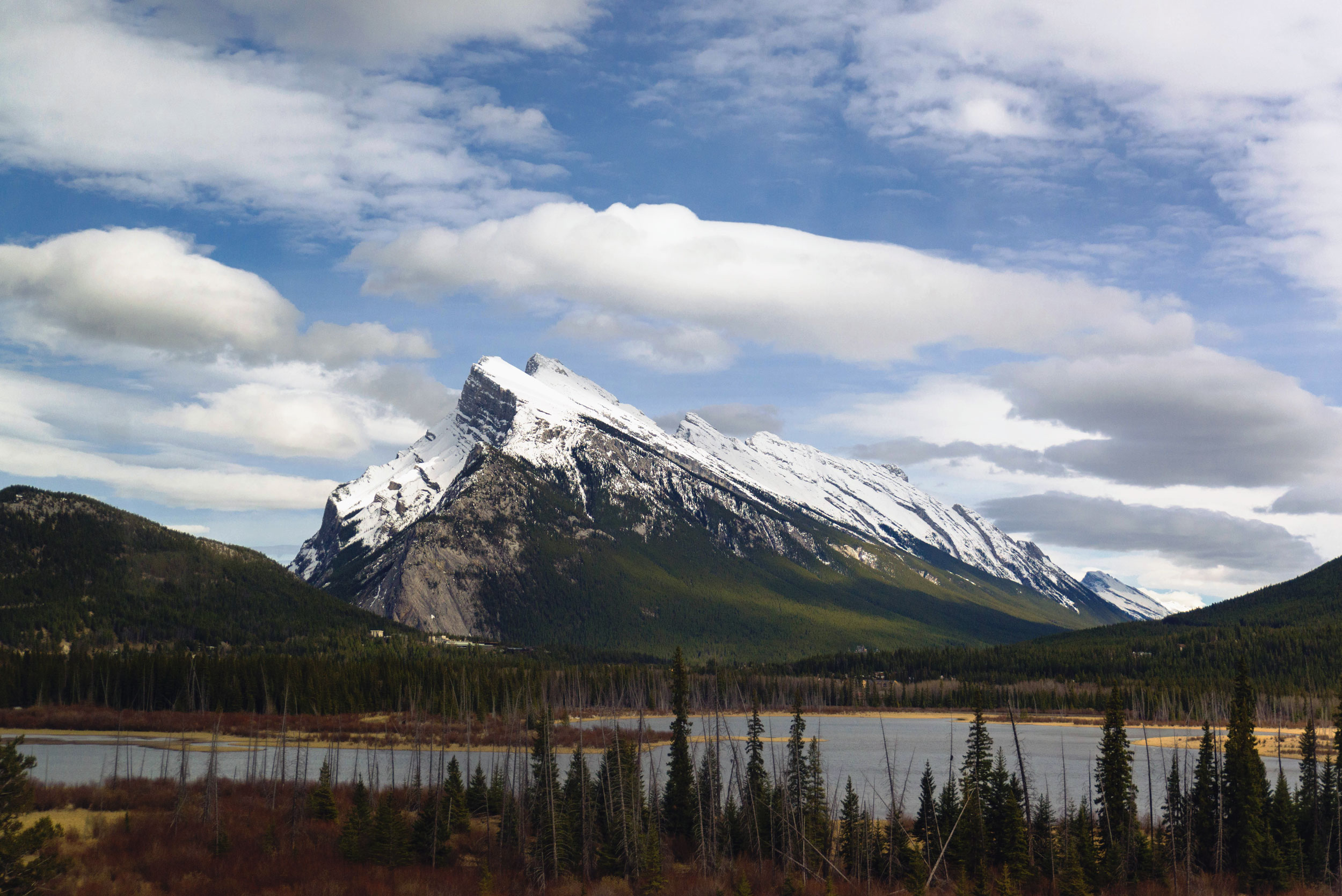 Mountains near Banff Town