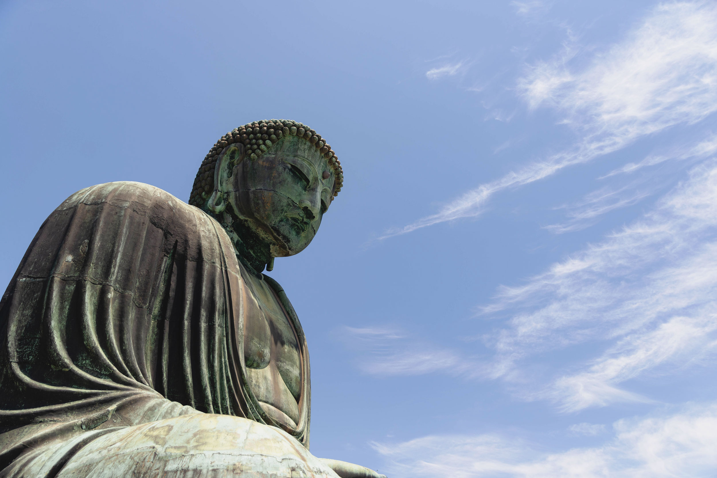Daibutsu Buddha statue in Kamakura