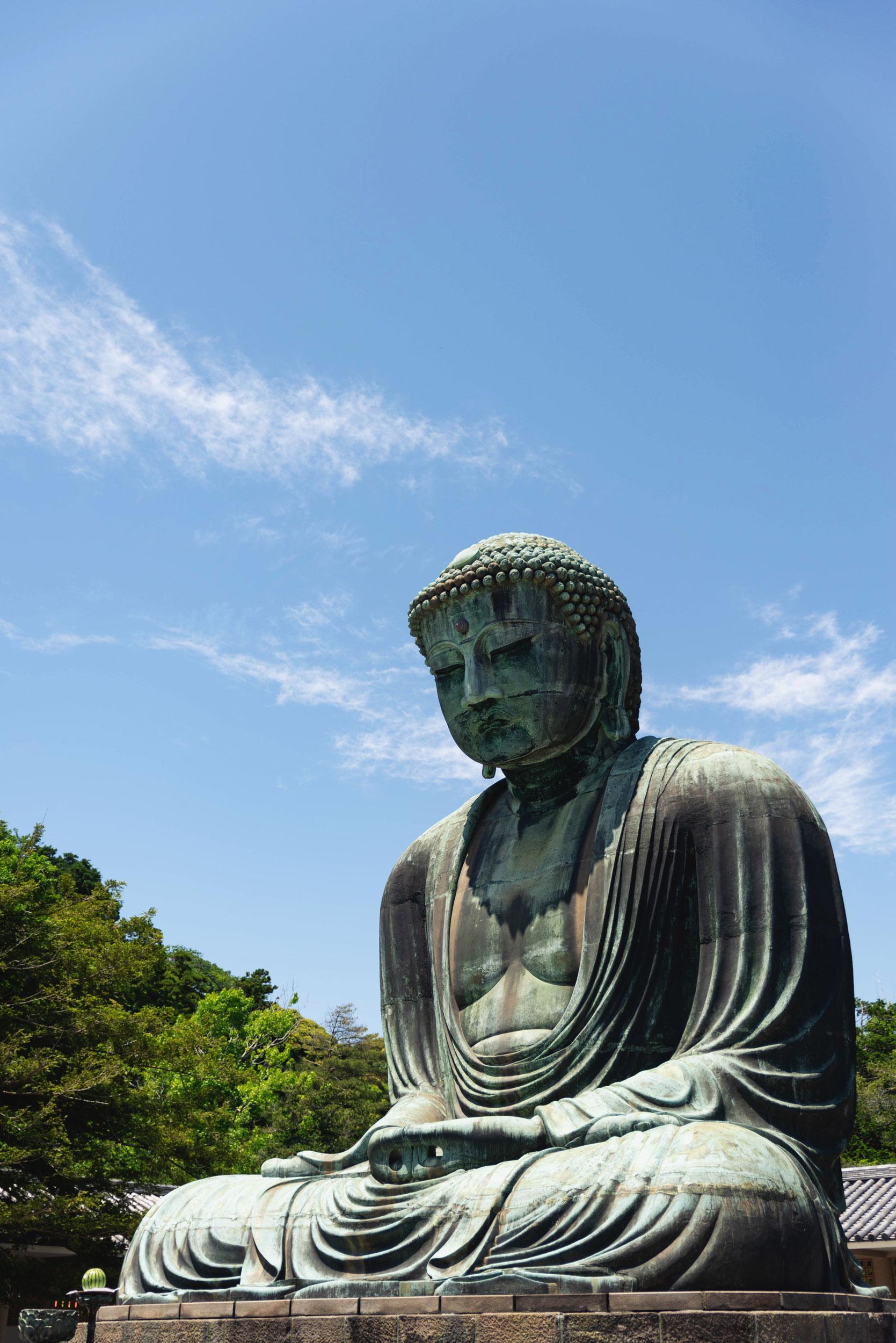 Kamakura Daibutsu at the Kotoku-in temple in Kamakura