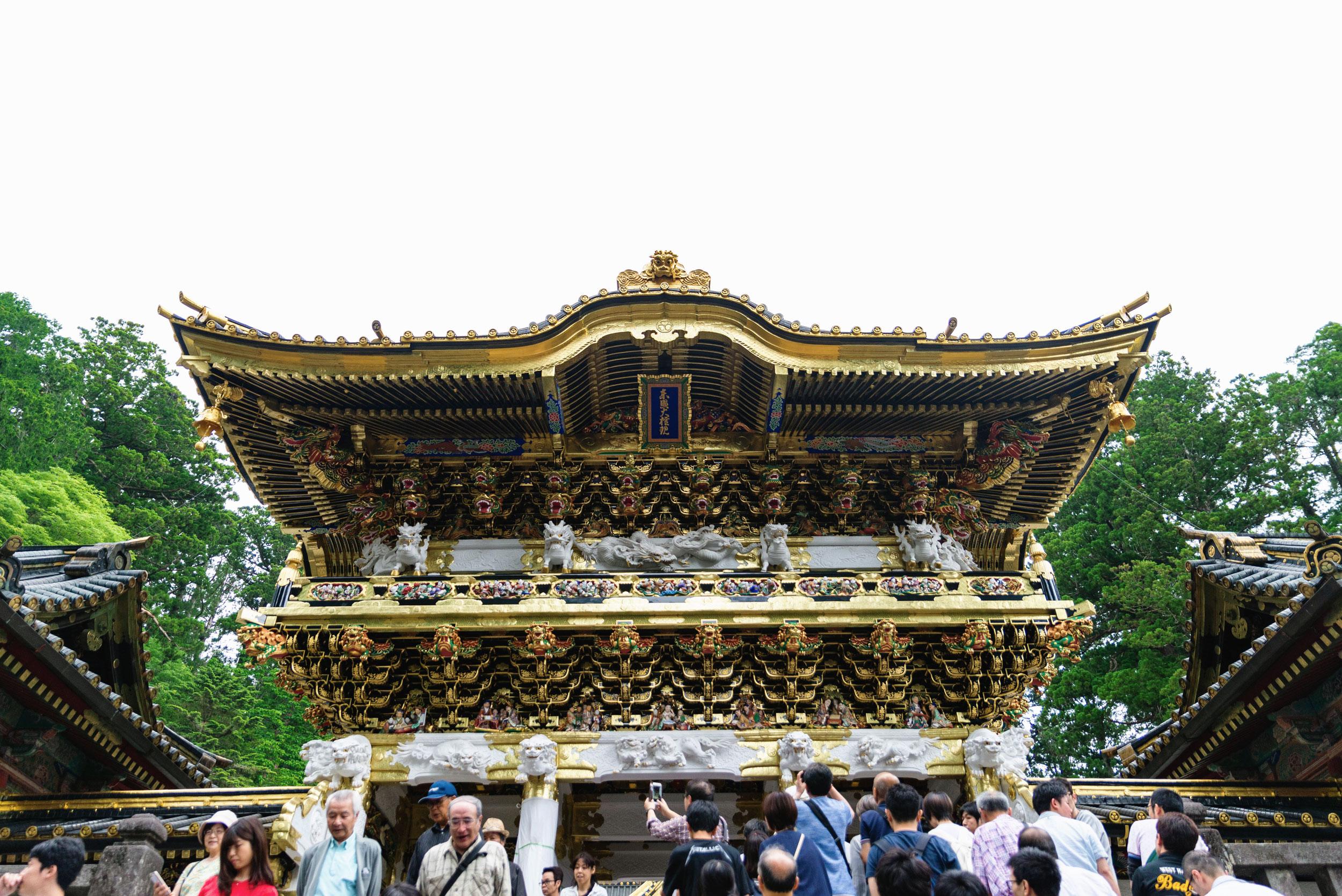 Karamon at Nikko Tosho-gu shrine