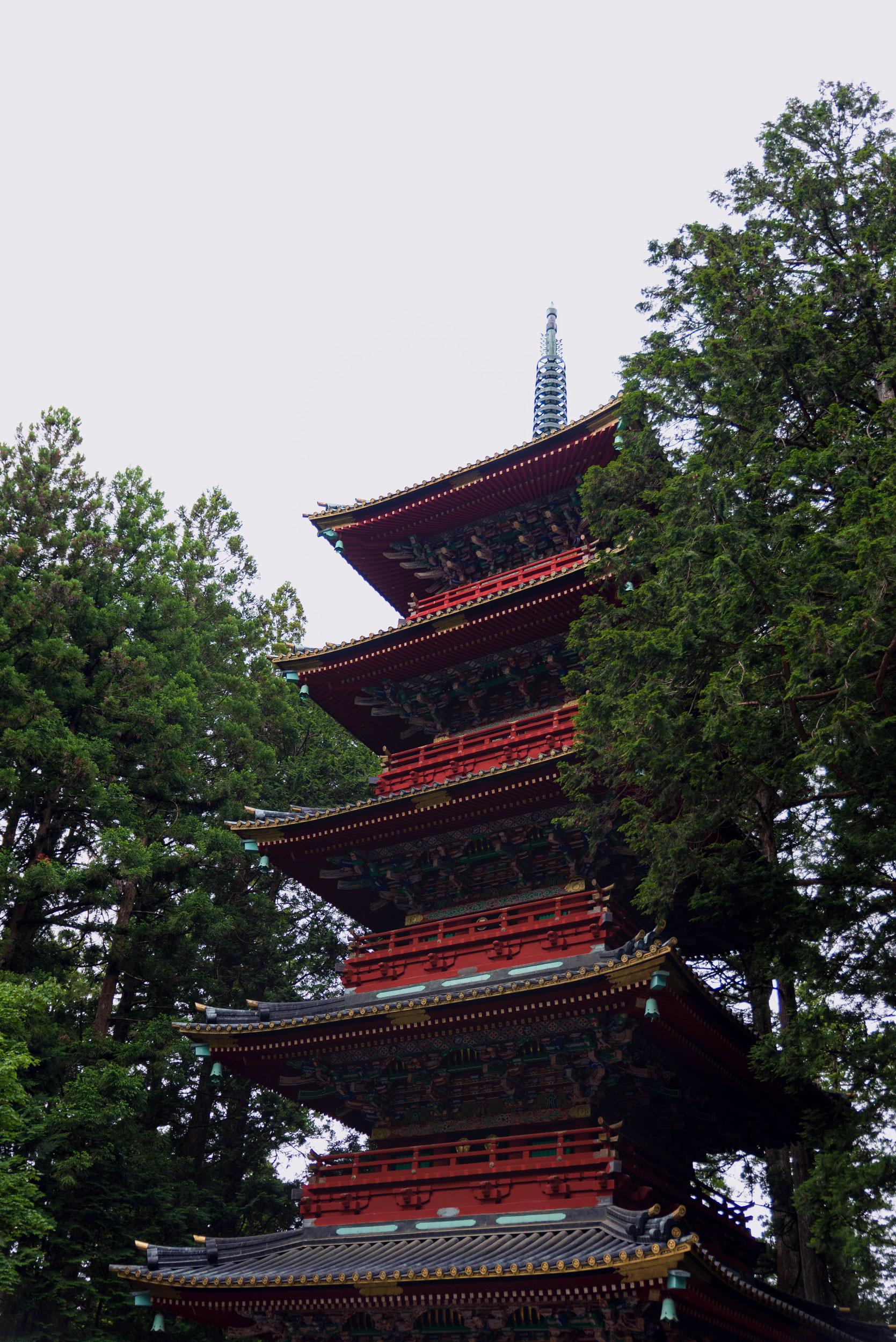 Five-story pagoda at Nikkō Tōshō-gū