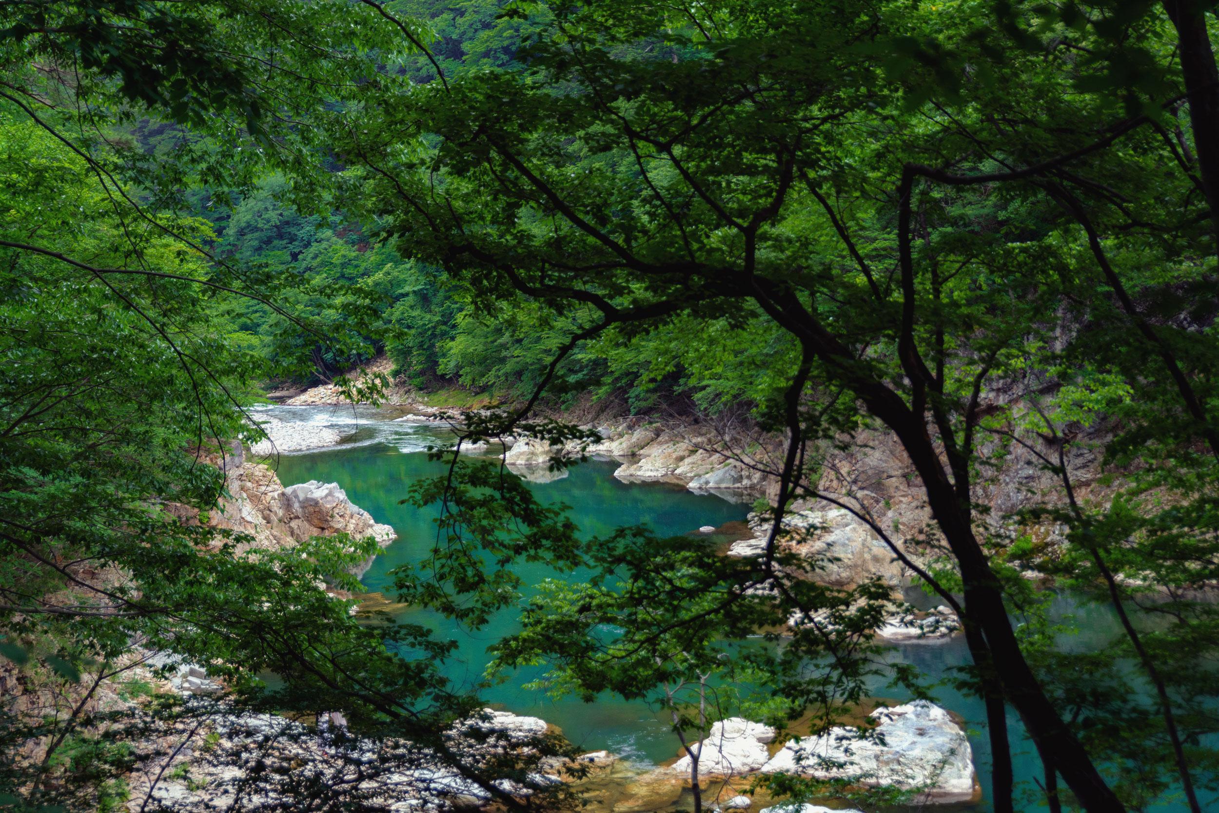 The Kinugawa River near Hoshino Resorts KAI Kawaji