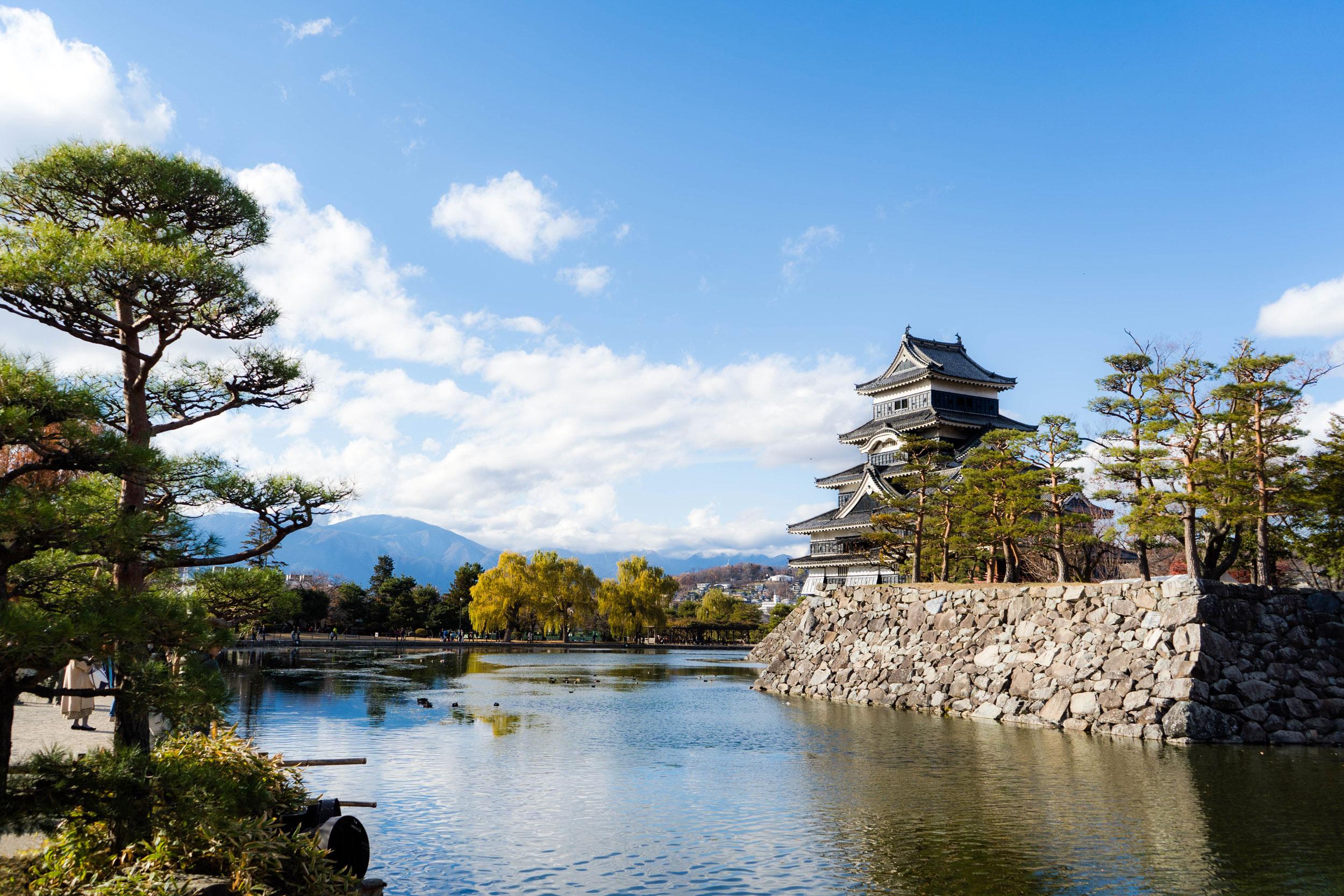 Matsumoto Castle in Matsumoto, Nagano