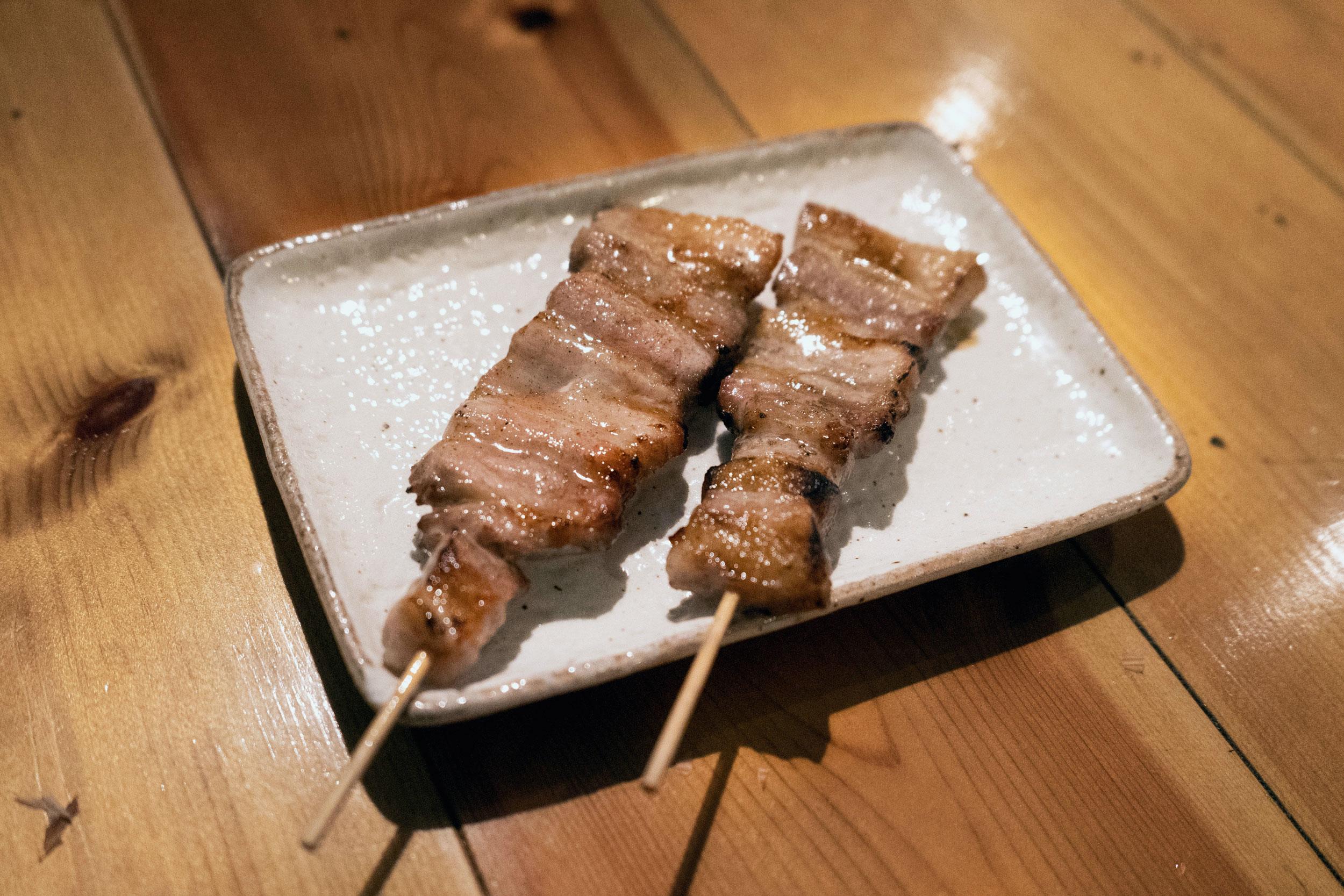 Pork belly (butabara)