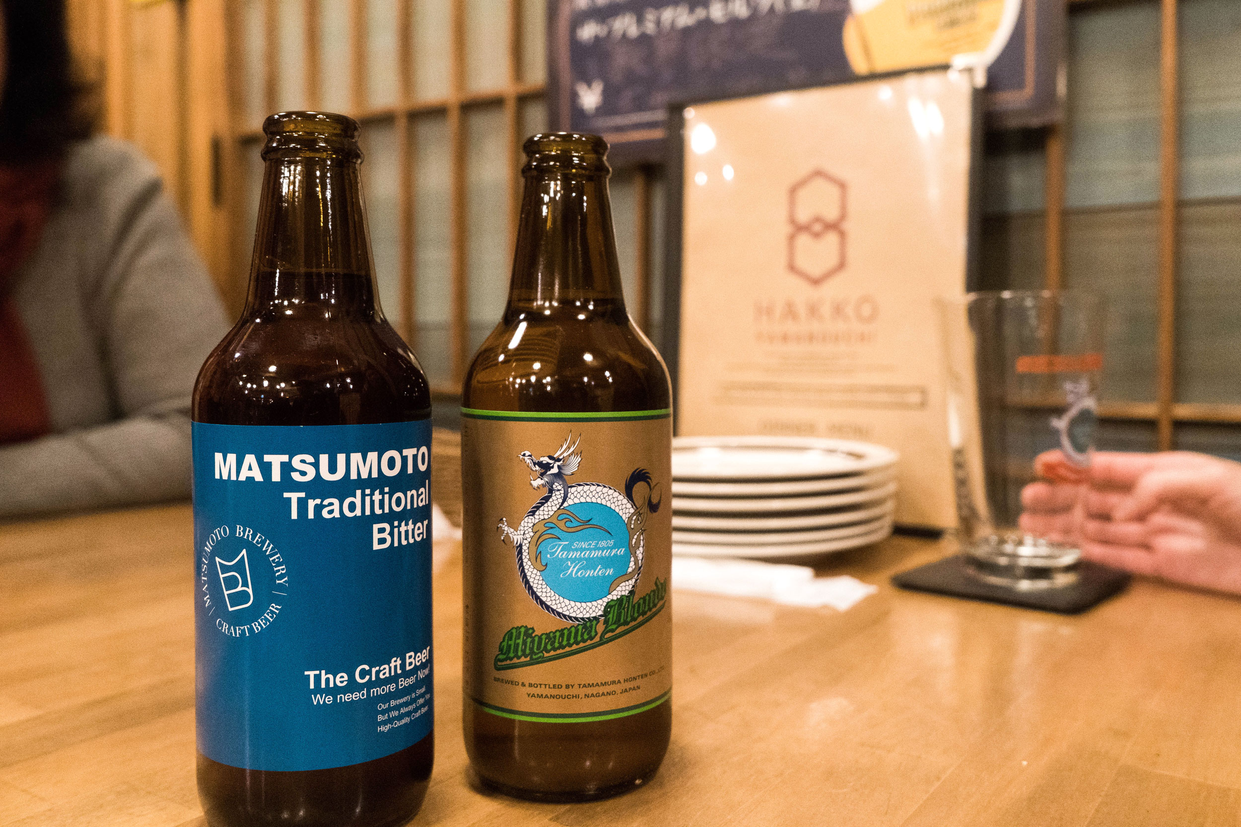 Nagano prefecture craft beer at Hakko